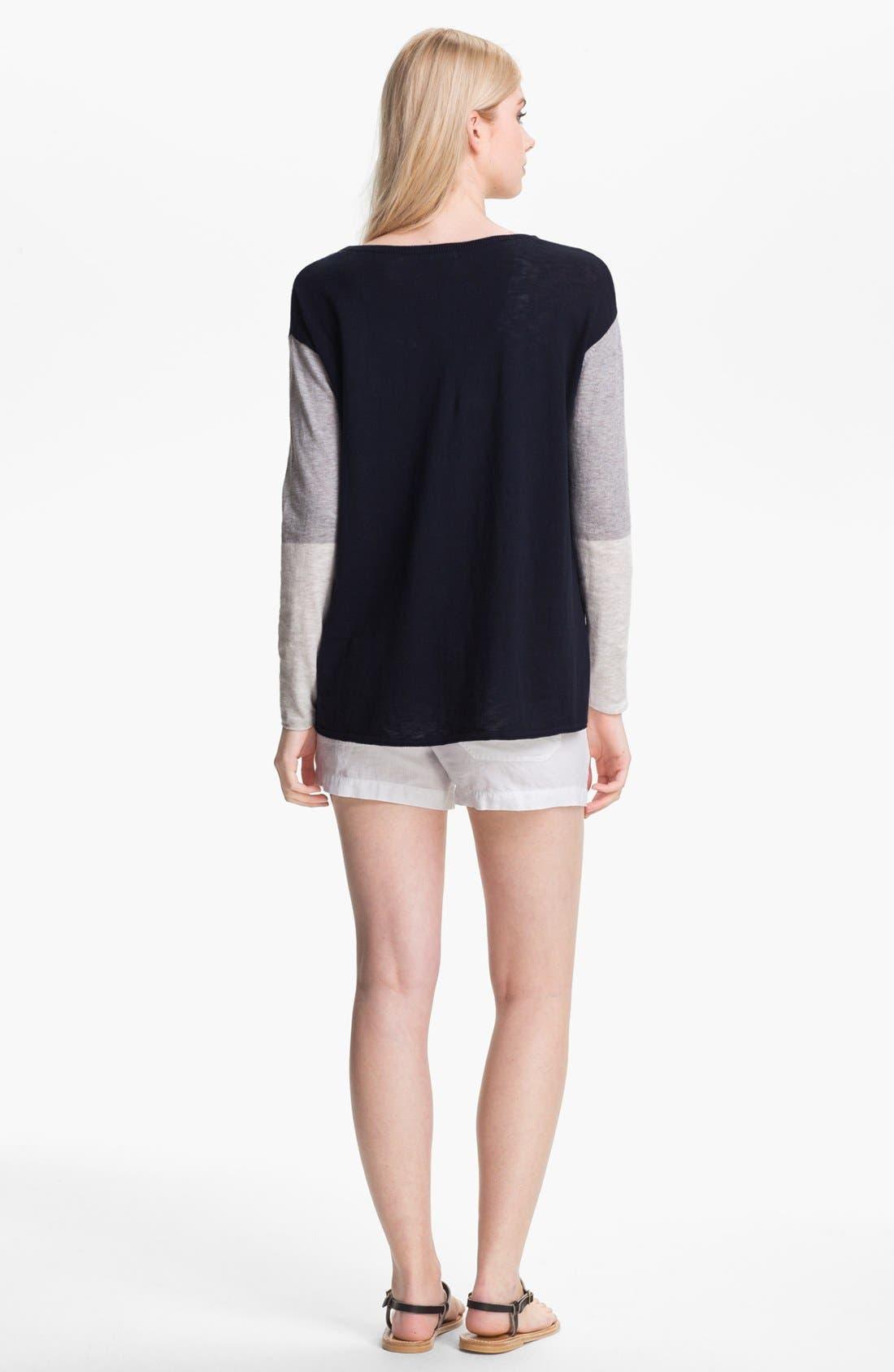 Alternate Image 2  - Vince Colorblock Sweater