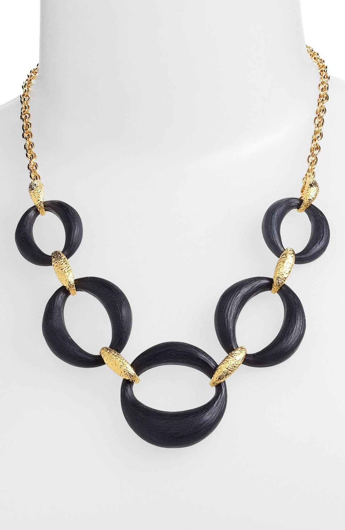 Main Image - Alexis Bittar 'Lucite® - Durban' Link Frontal Necklace