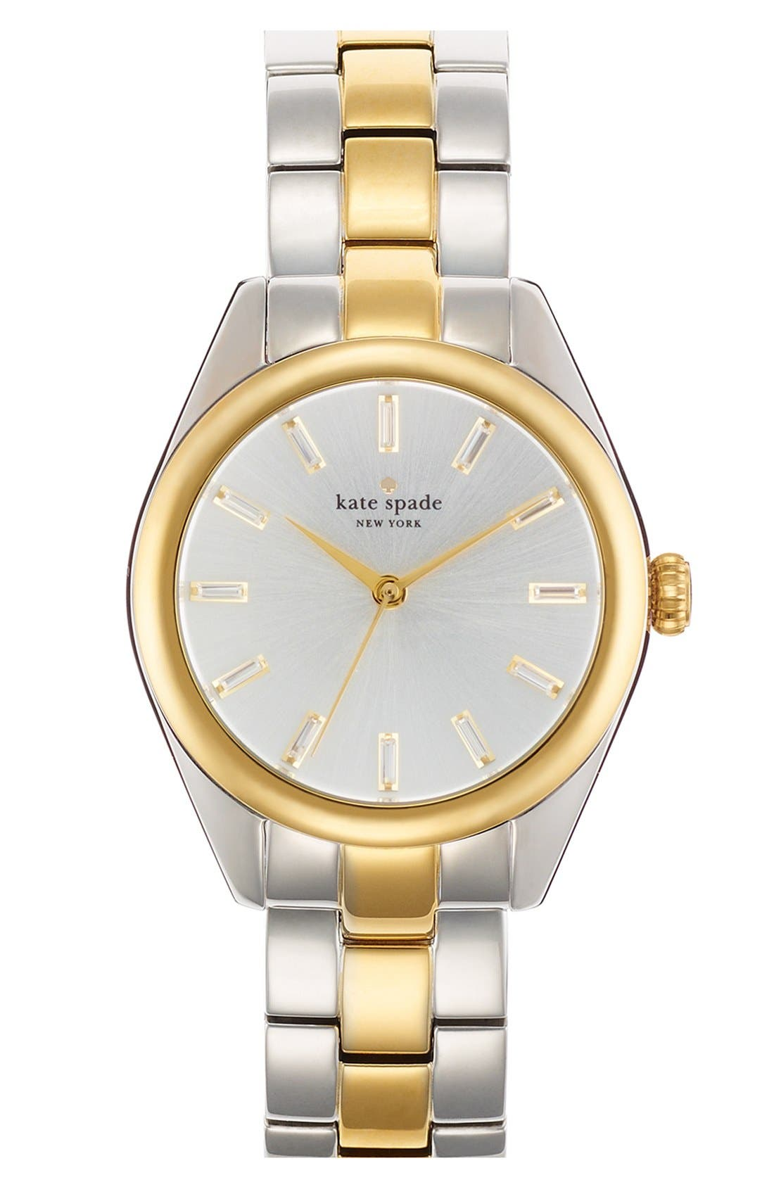 Alternate Image 1 Selected - kate spade new york 'seaport' bracelet watch