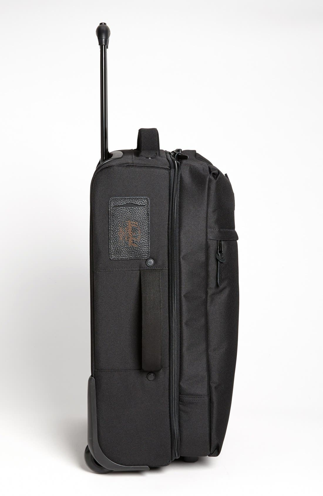 New Campaign 24-Inch Rolling Suitcase,                             Alternate thumbnail 3, color,                             Black