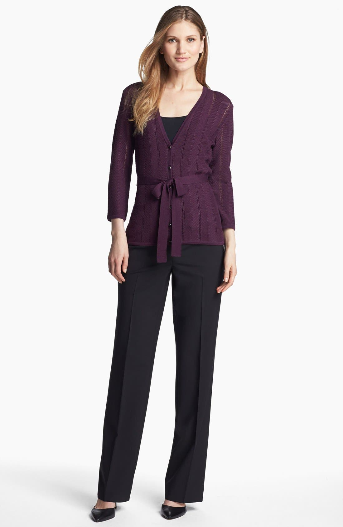 Alternate Image 4  - Classiques Entier® Stretch Wool Trousers