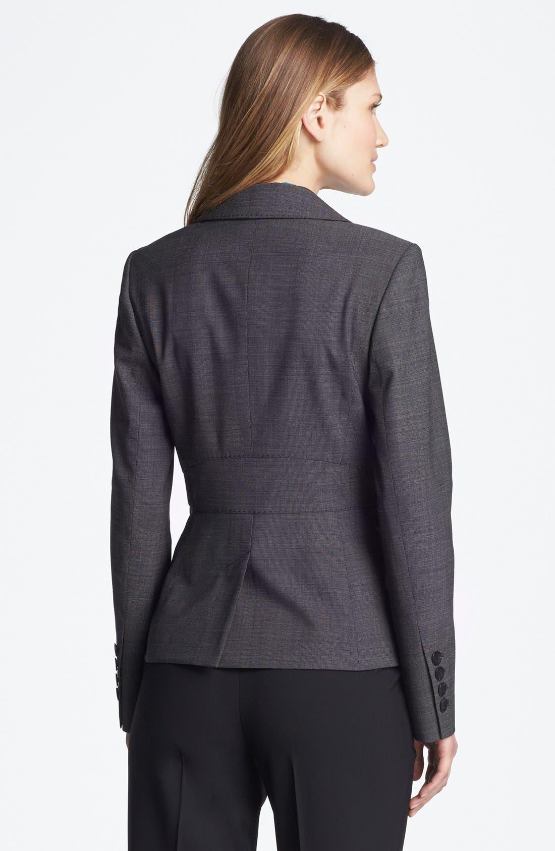 Alternate Image 2  - Classiques Entier® Stretch Wool Jacket