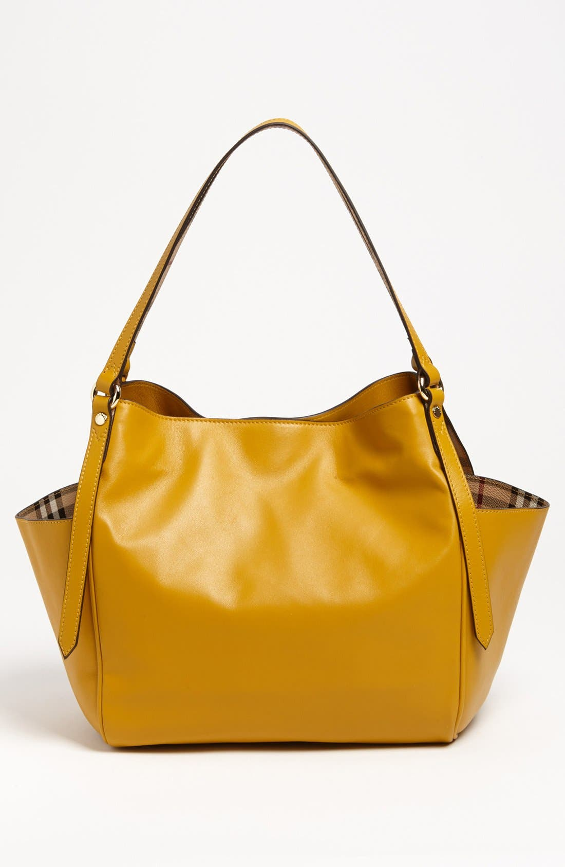 Alternate Image 4  - Burberry 'Canterbury - Small' Leather Tote