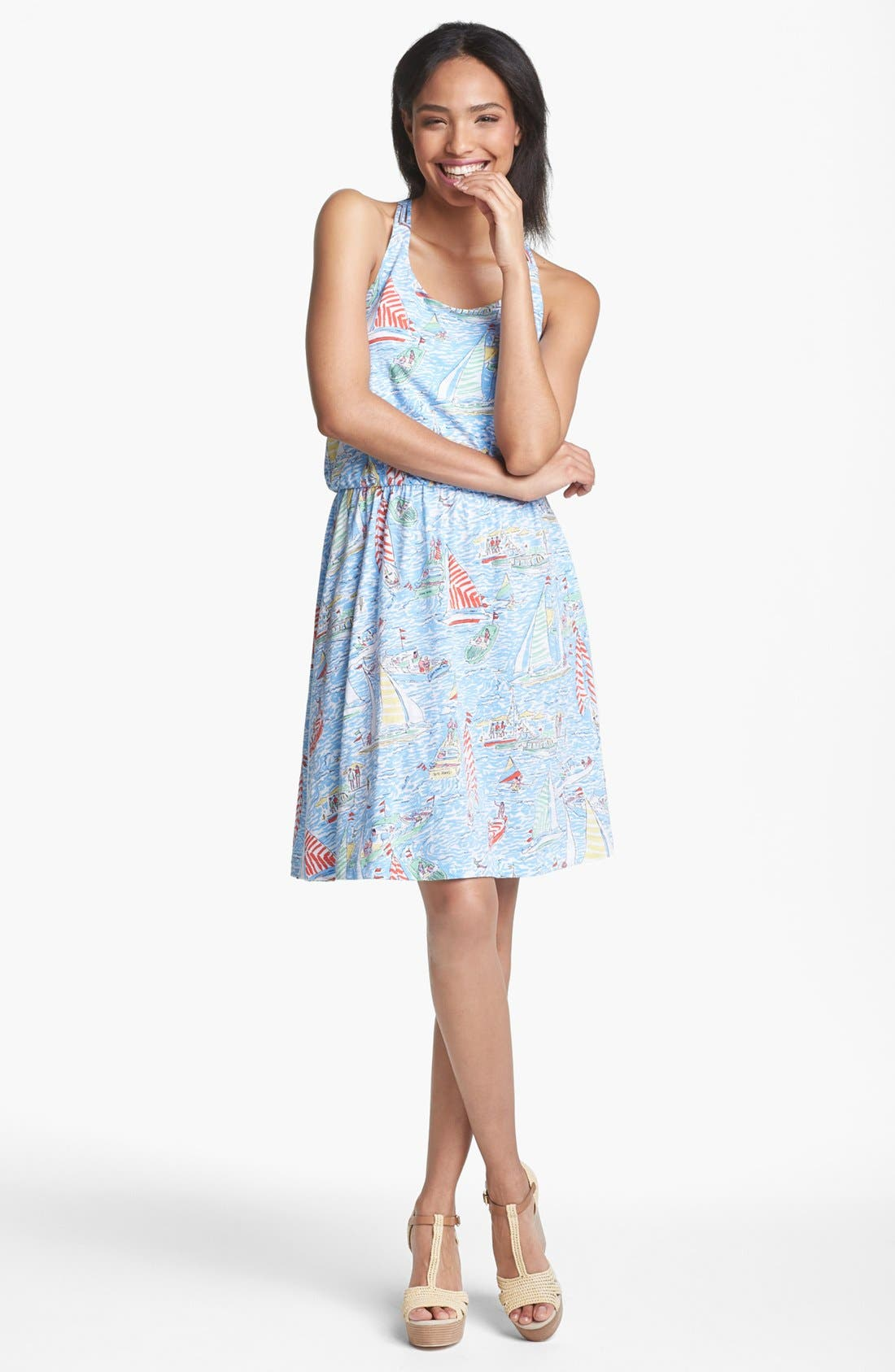 Alternate Image 1 Selected - Lilly Pulitzer® 'Lockwood' Racerback Tank Dress