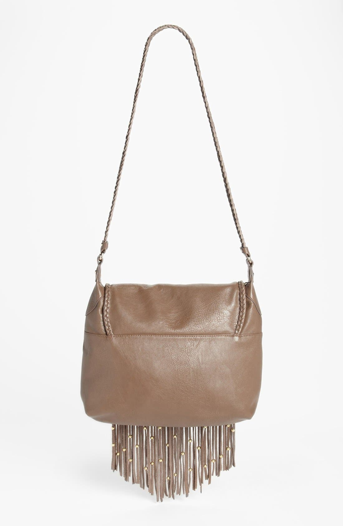 Alternate Image 4  - Izzy & Ali 'Farah' Fringe Shoulder Bag