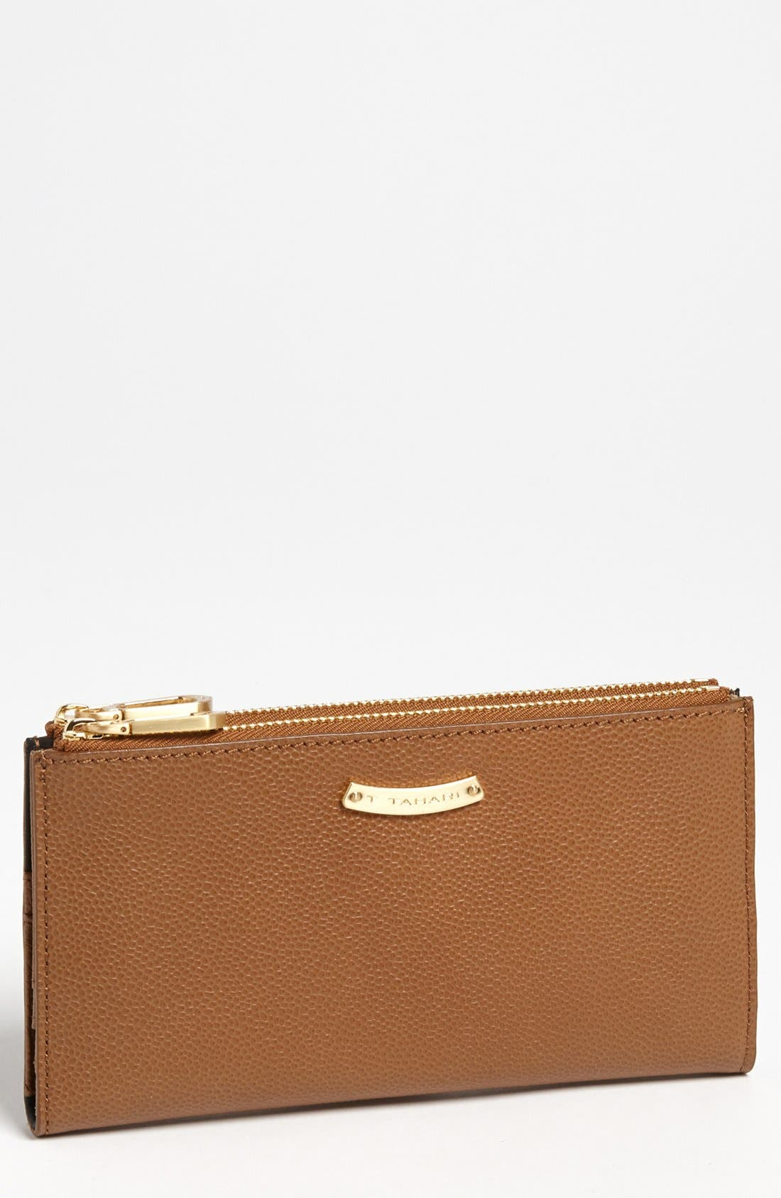 Alternate Image 1 Selected - T Tahari Double Zip Wallet, Large