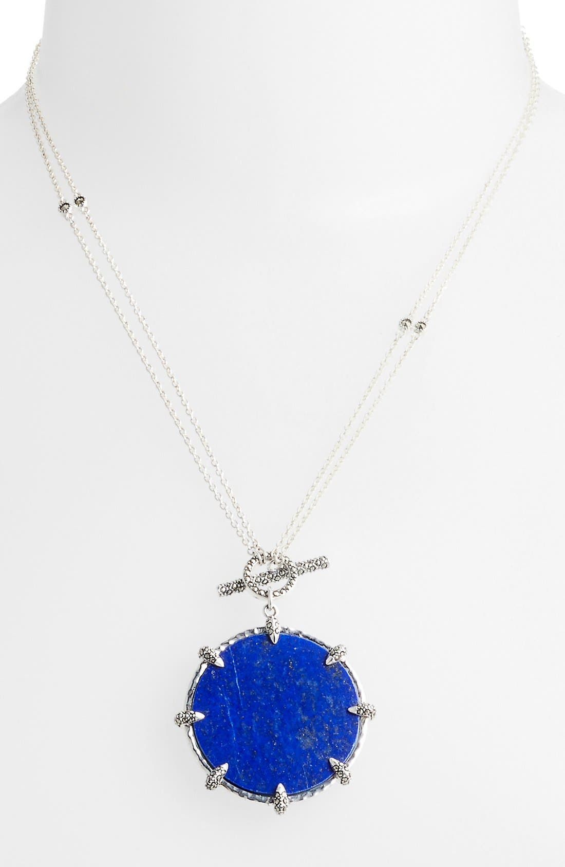 Alternate Image 1 Selected - Judith Jack 'Coin' Convertible Reversible Pendant Necklace