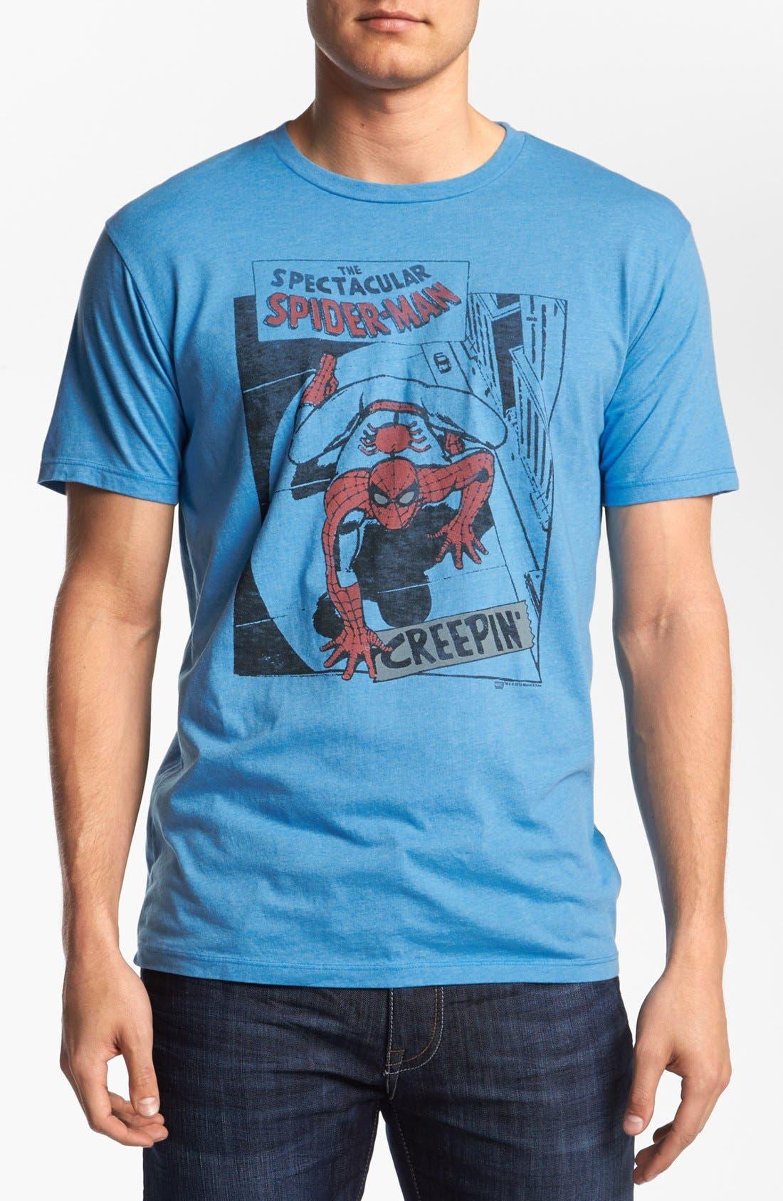 Alternate Image 1 Selected - Junk Food 'Spider-Man®' T-Shirt