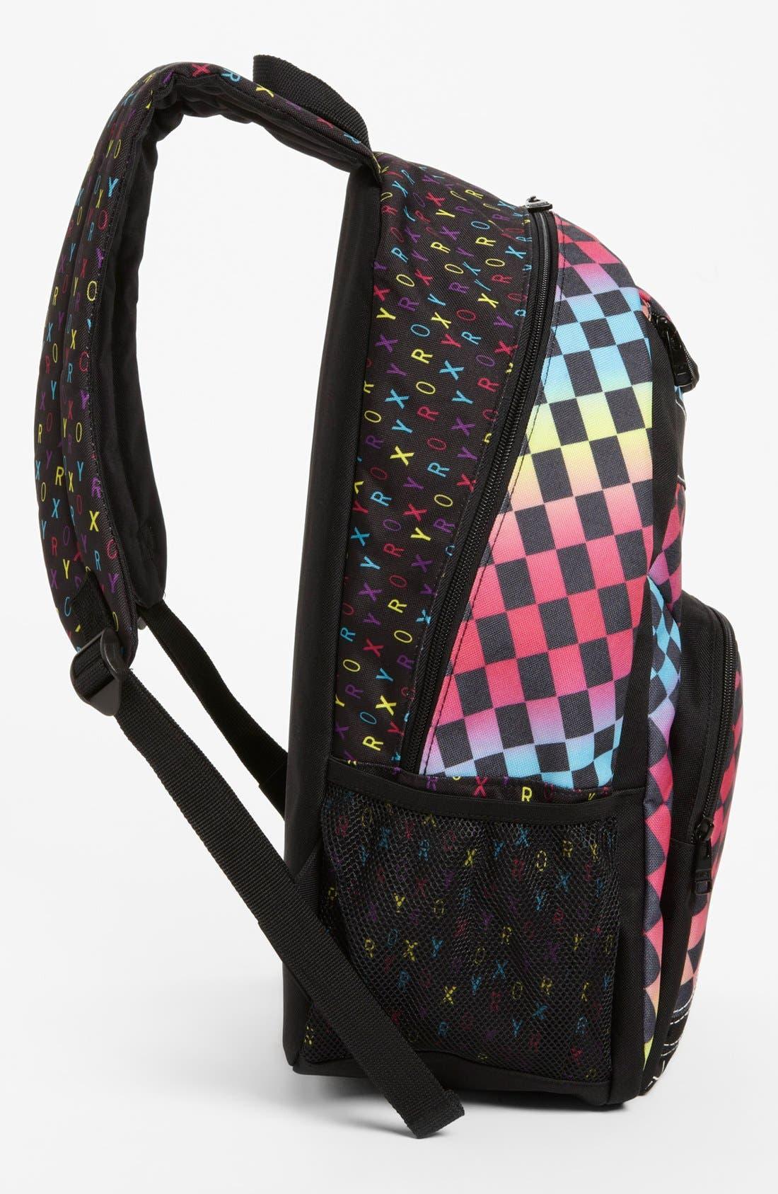 Alternate Image 2  - Roxy 'Shadow View' Backpack (Girls)
