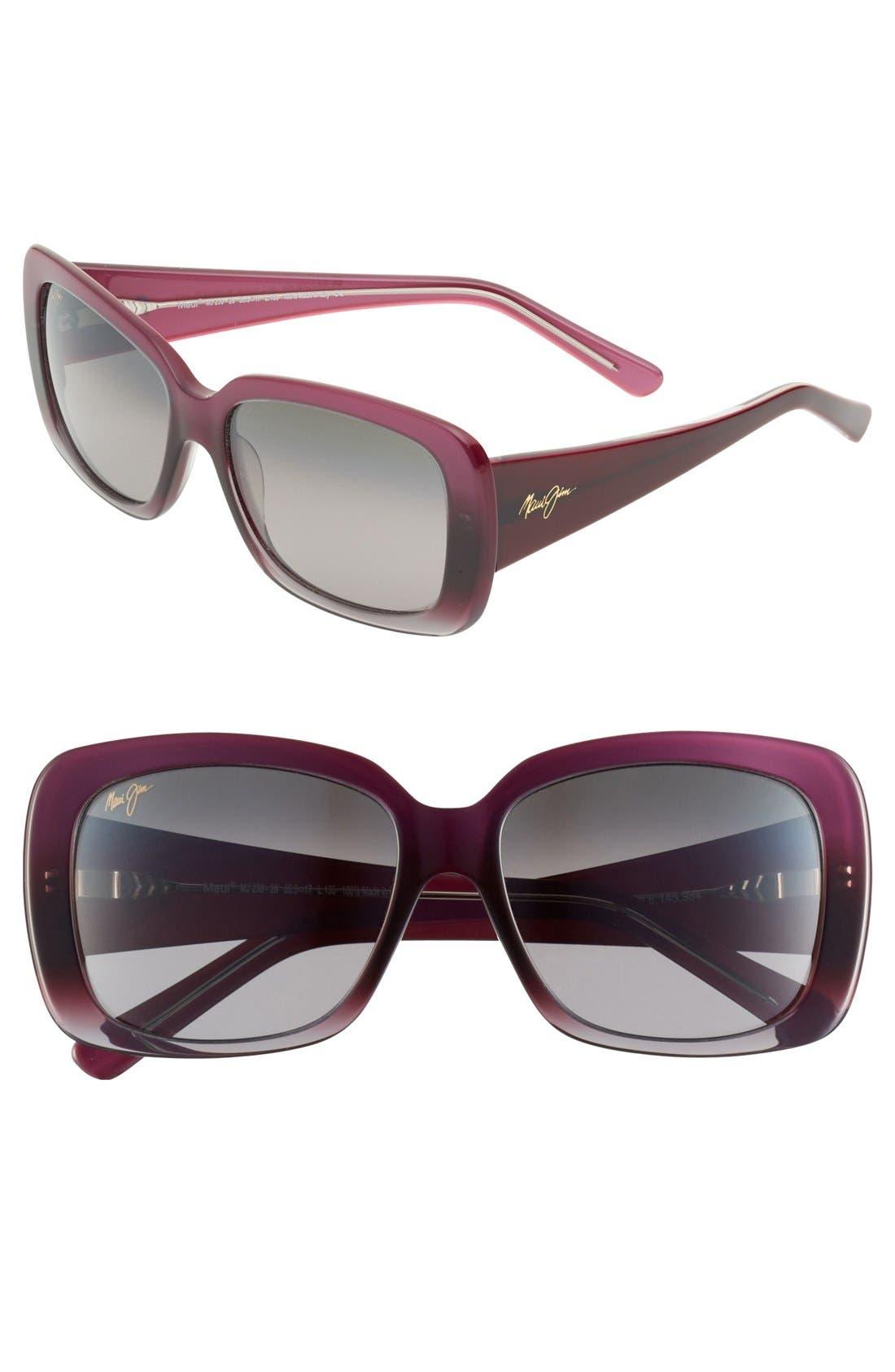 Alternate Image 1 Selected - Maui Jim 'Lani' 56mm Oversized Sunglasses
