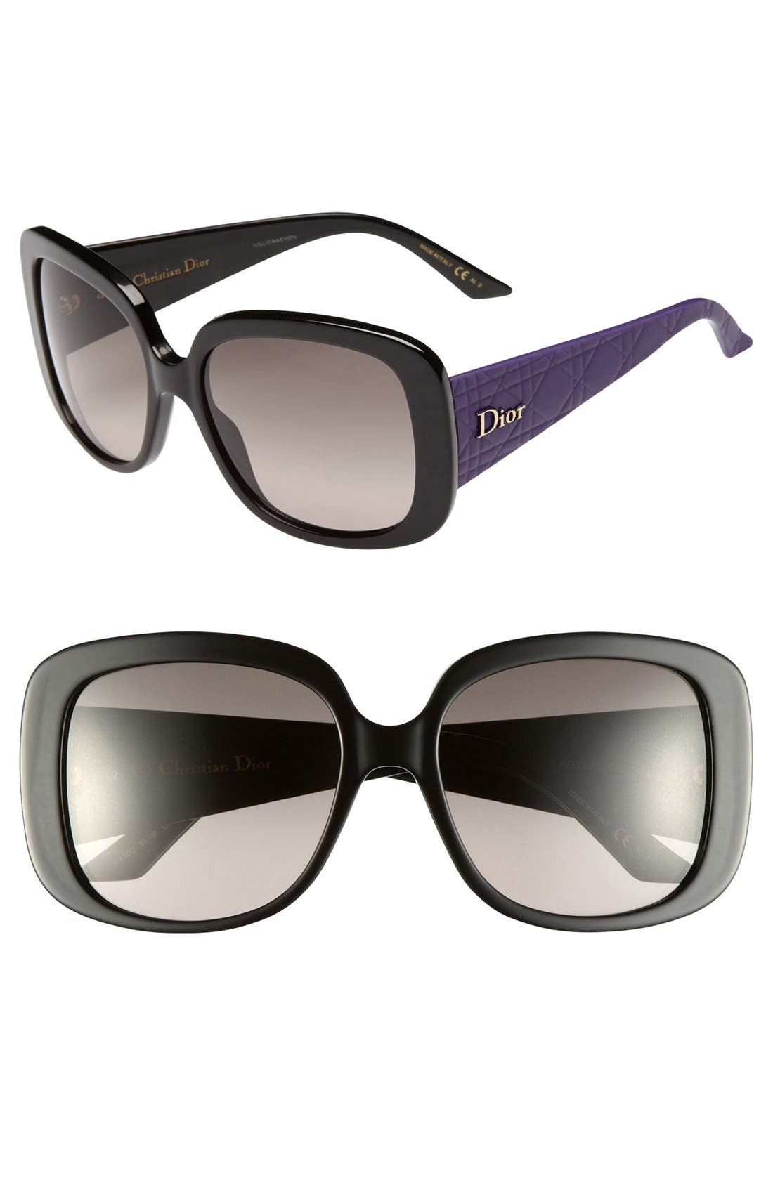 Main Image - Dior 'Ladylady' 56mm Sunglasses