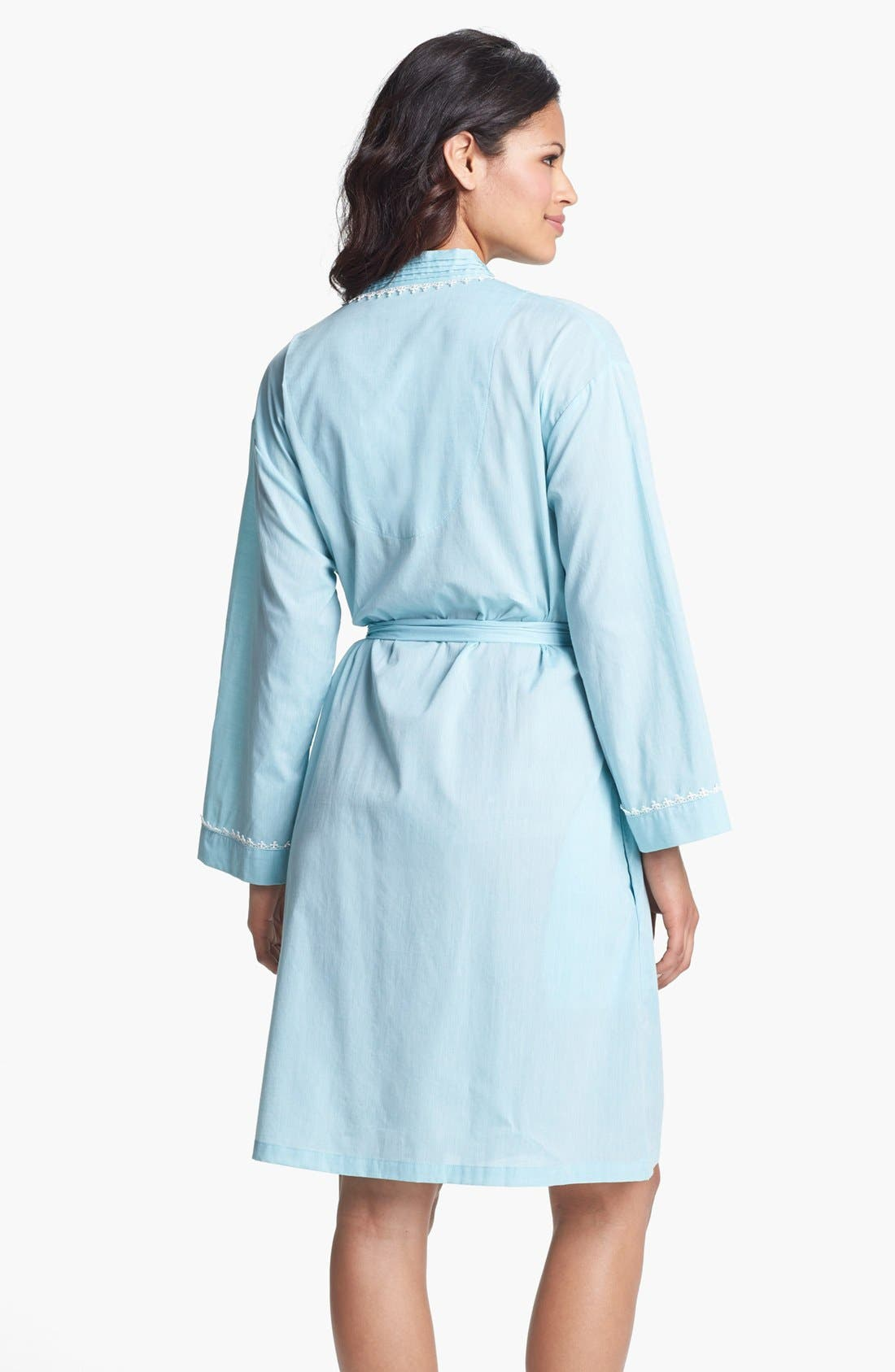 Alternate Image 2  - Eileen West 'Ocean Mist' Short Robe