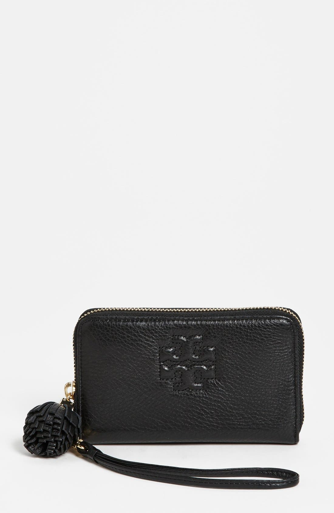 Alternate Image 1 Selected - Tory Burch 'Thea' Smart Phone Wristlet
