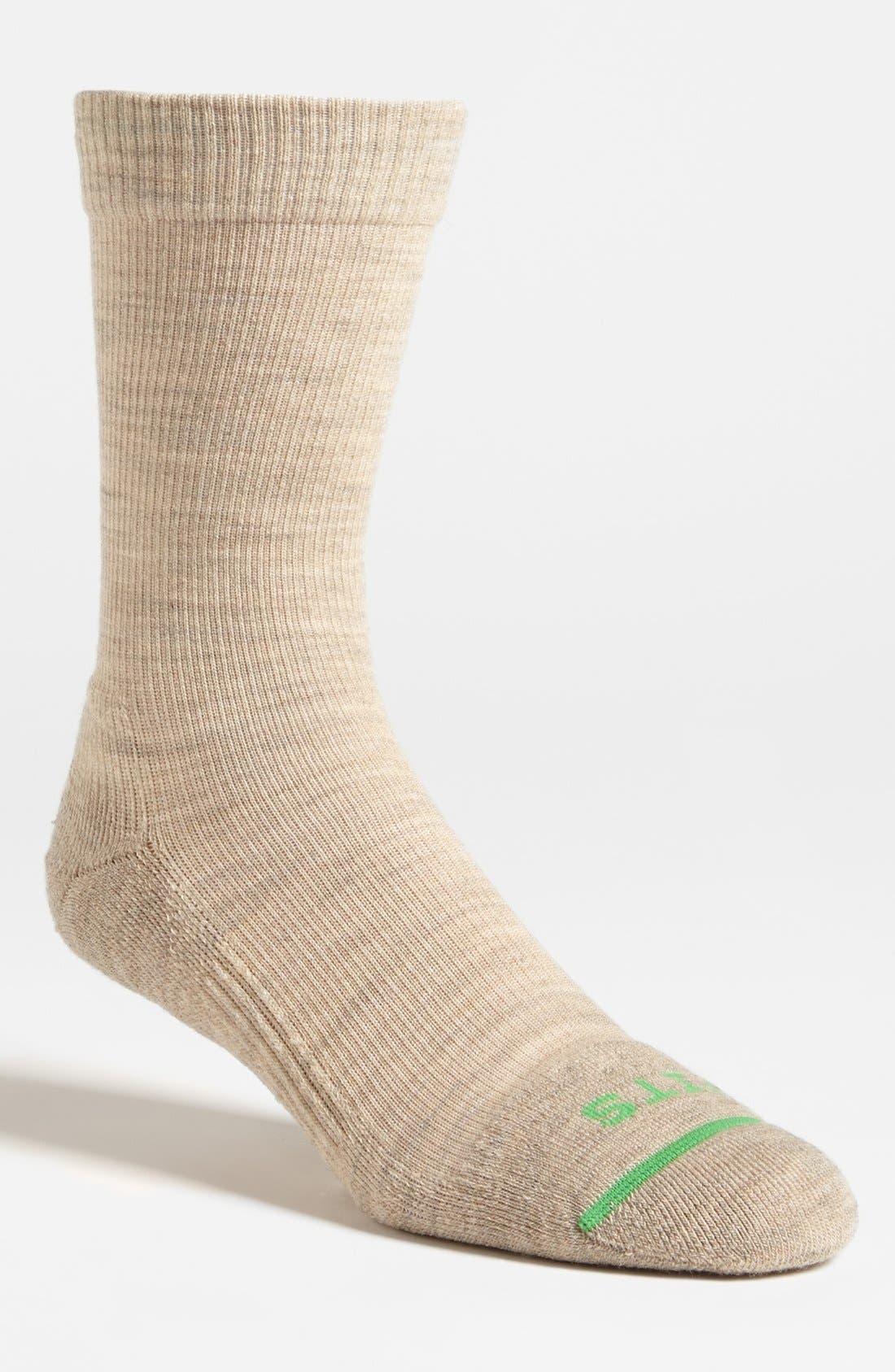 Co. Crew Socks,                         Main,                         color, Stone