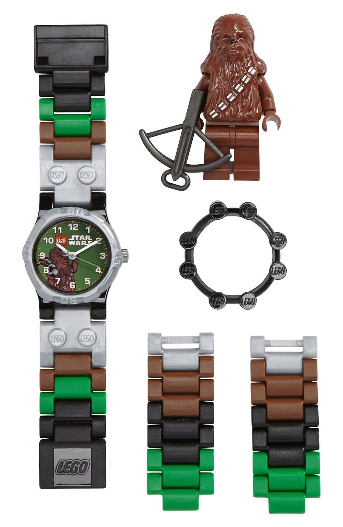 Alternate Image 1 Selected - LEGO® 'Chewbacca™' Watch & Toy (Boys)