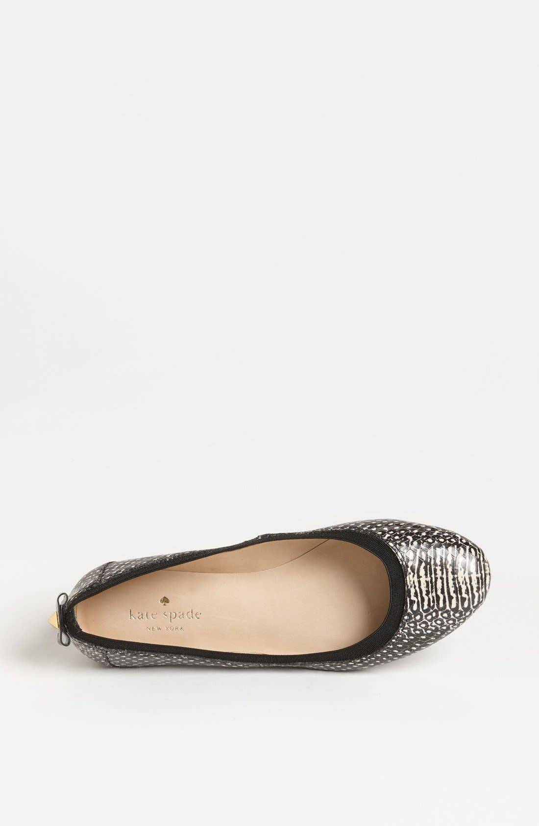 Alternate Image 3  - kate spade new york 'taffy' flat