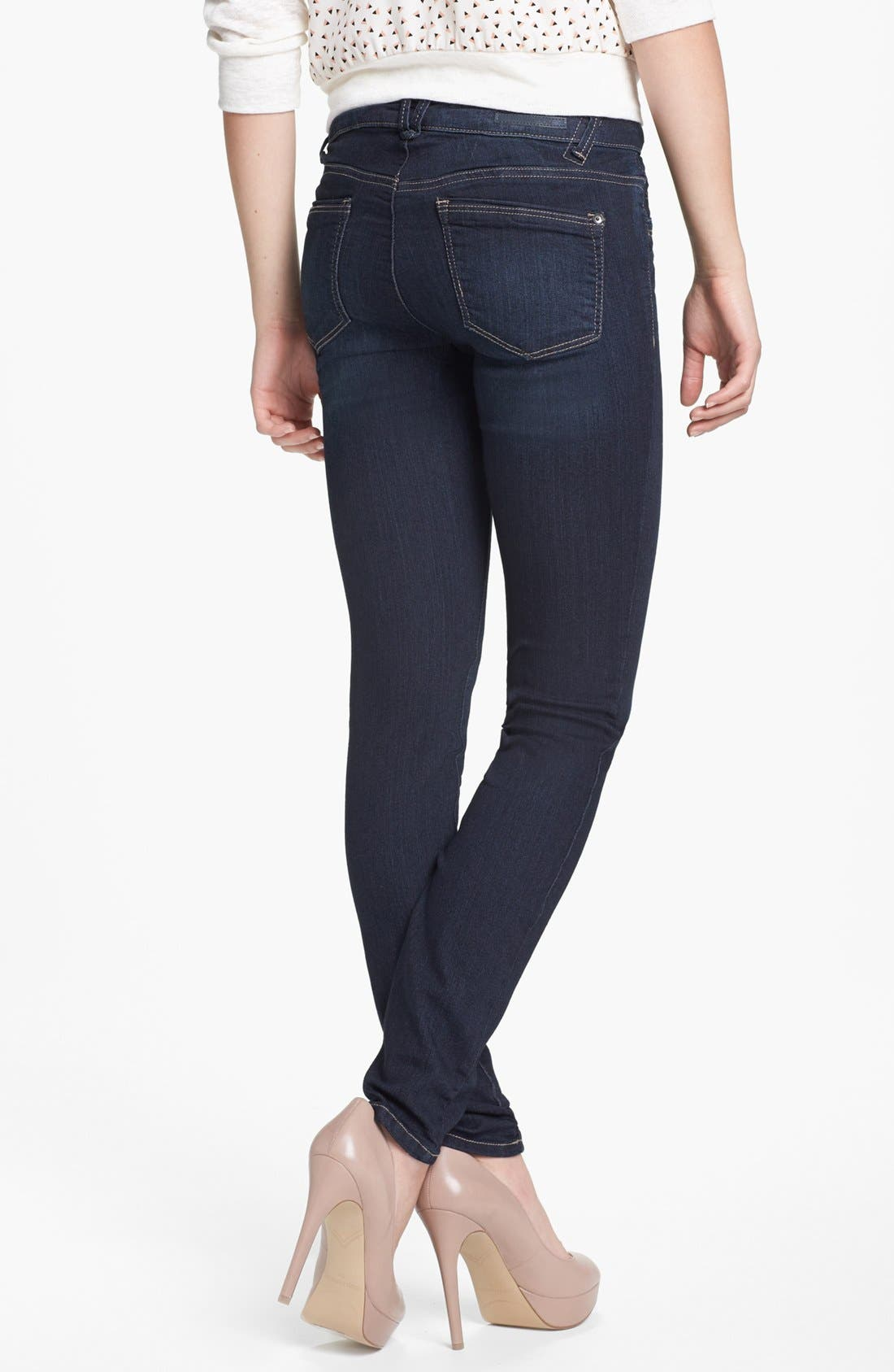 Alternate Image 2  - Wit & Wisdom Skinny Jeans (Indigo) (Nordstrom Exclusive)
