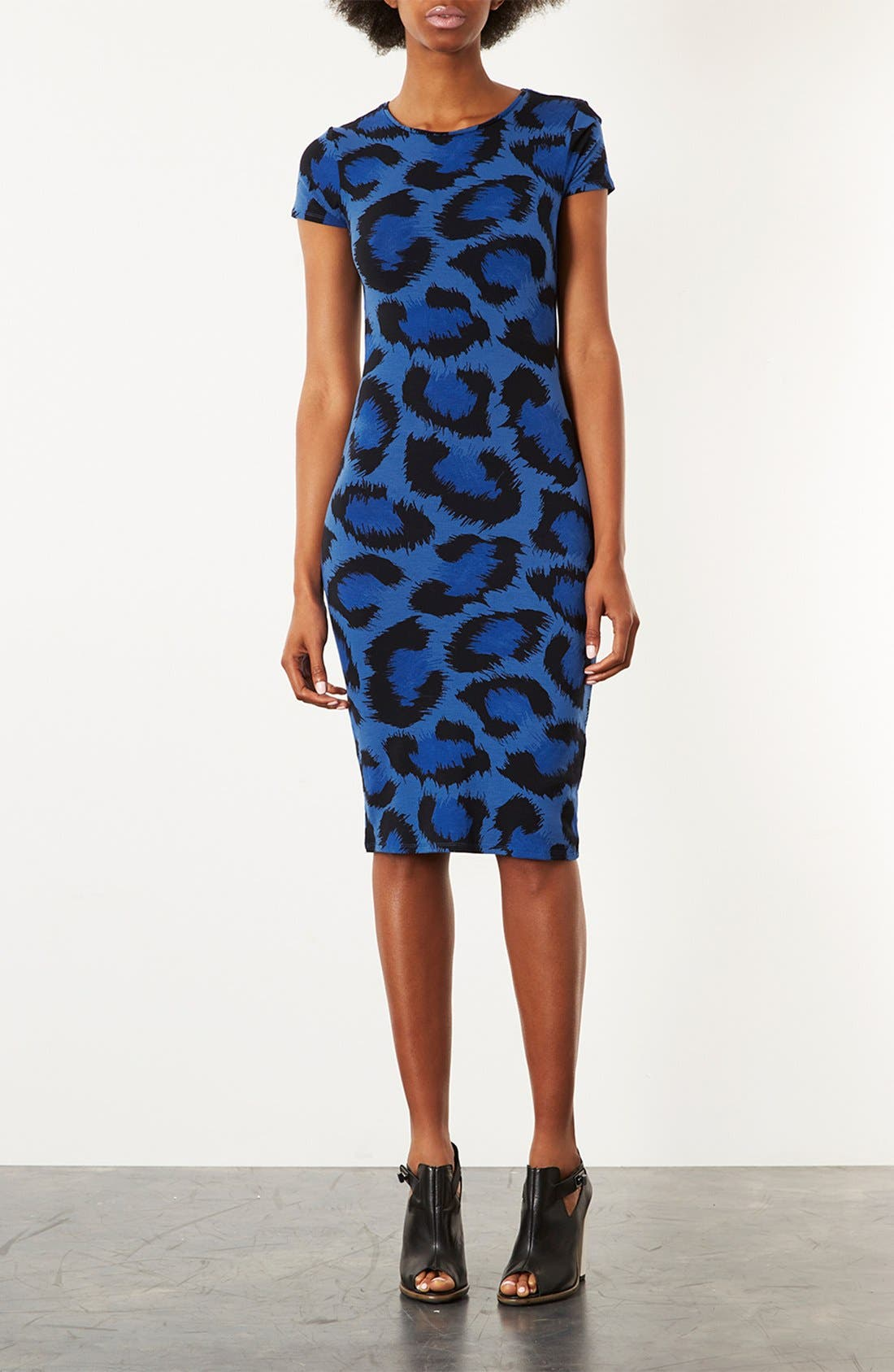 Alternate Image 1 Selected - Topshop Back Cut Out Body-Con Dress