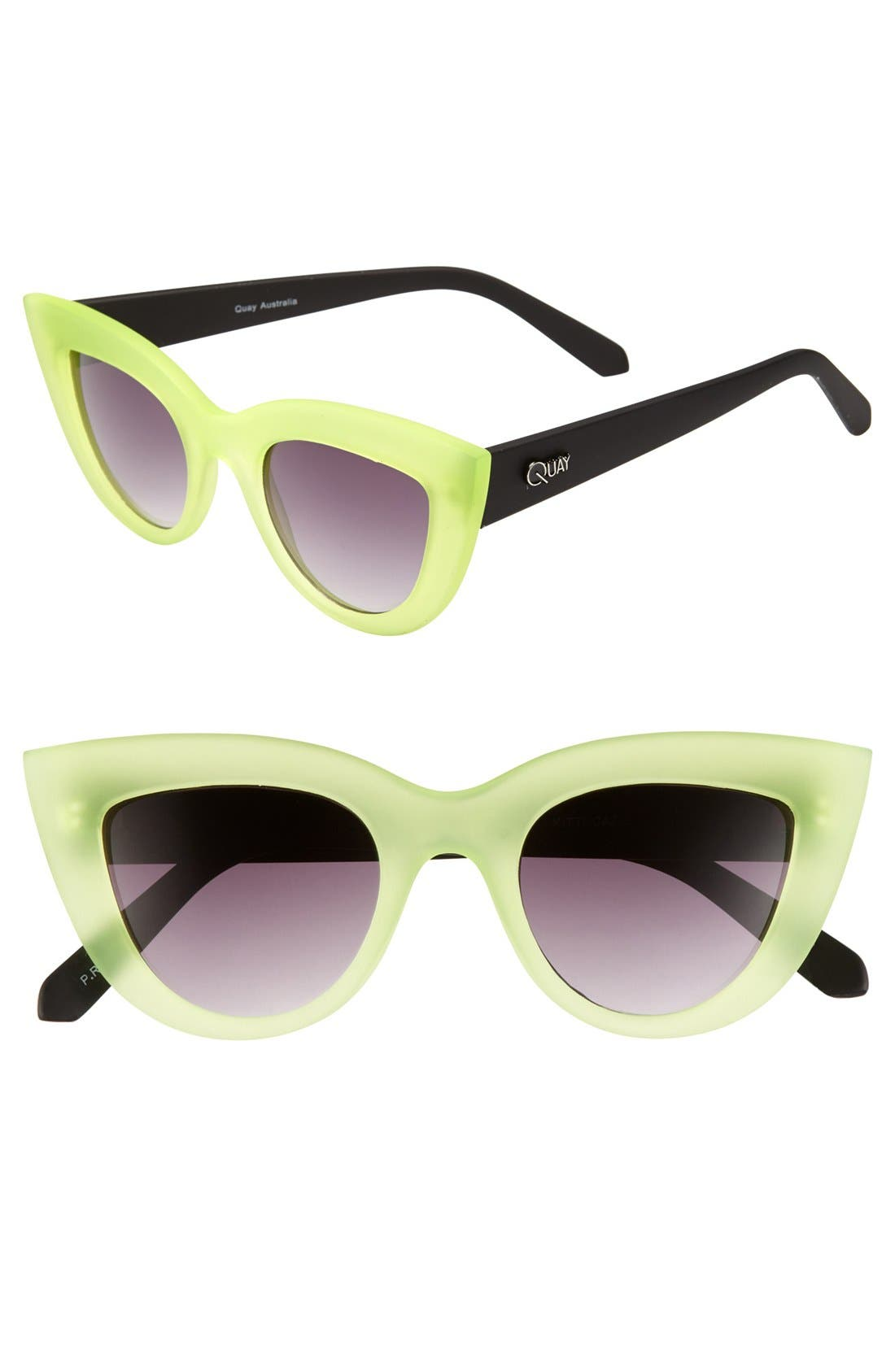 Main Image - Quay 'Kitti' Sunglasses
