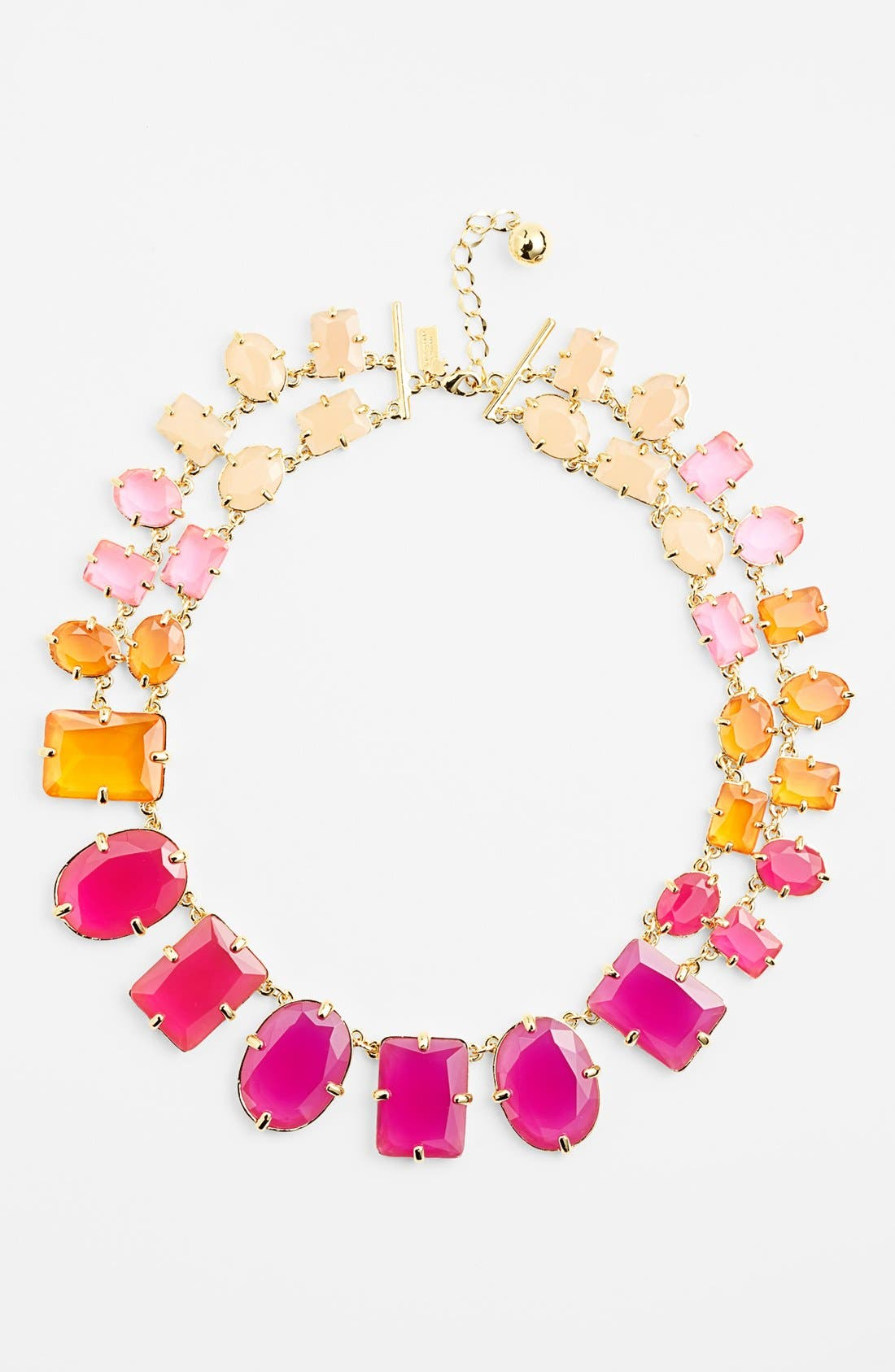 Alternate Image 1 Selected - kate spade new york 'coated confetti' collar necklace