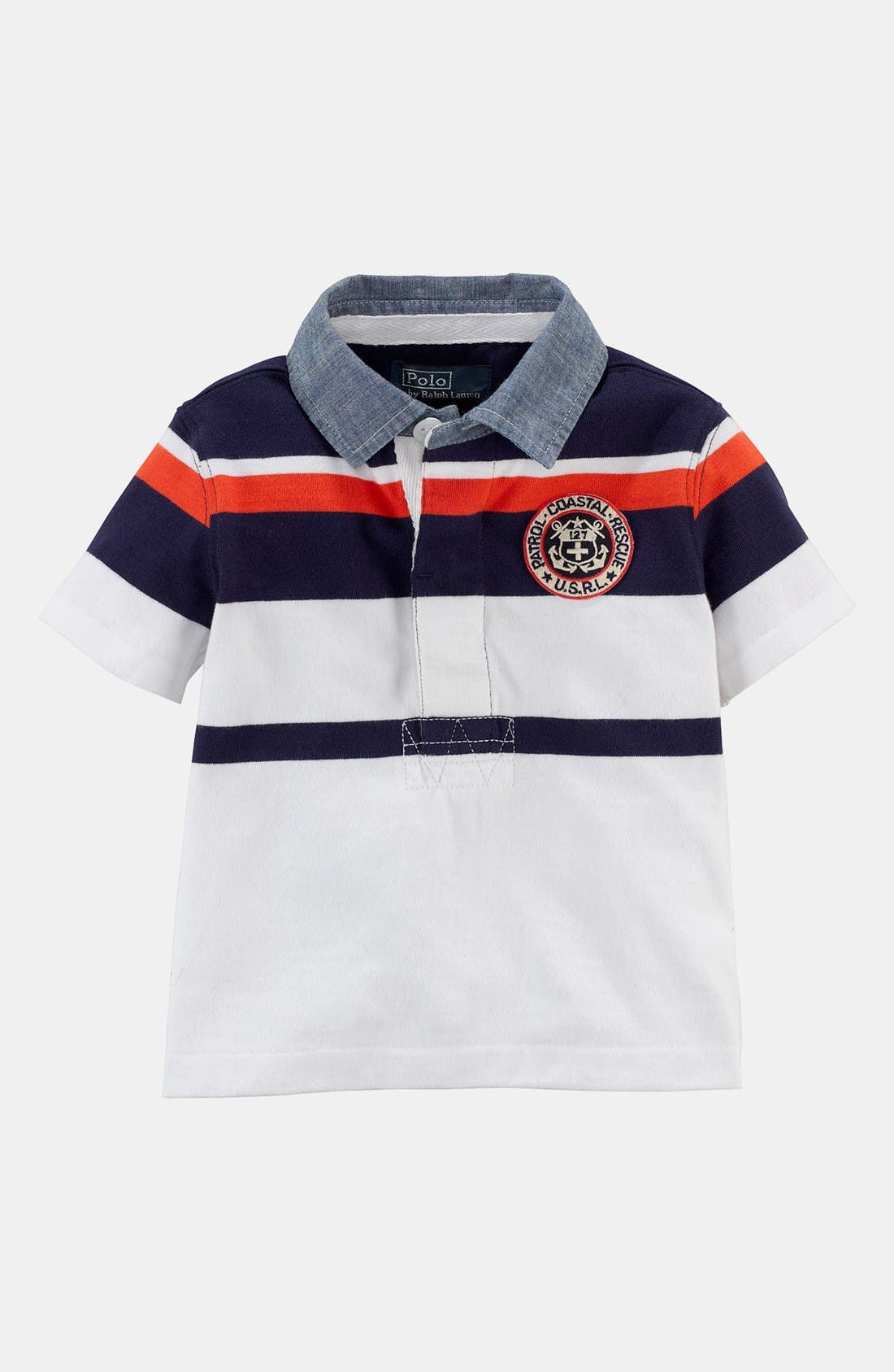 Alternate Image 1 Selected - Ralph Lauren Rugby Polo (Baby Boys)