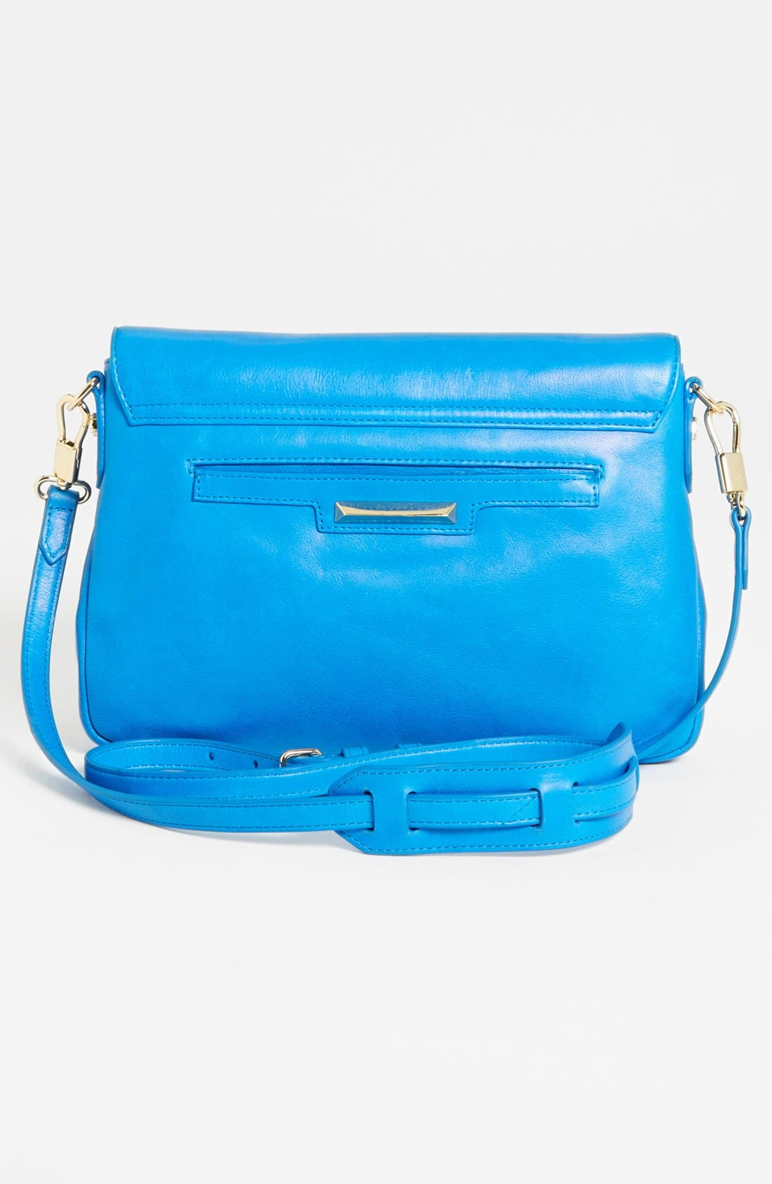 Alternate Image 4  - Elizabeth and James 'Mini' Coated Leather Crossbody Bag
