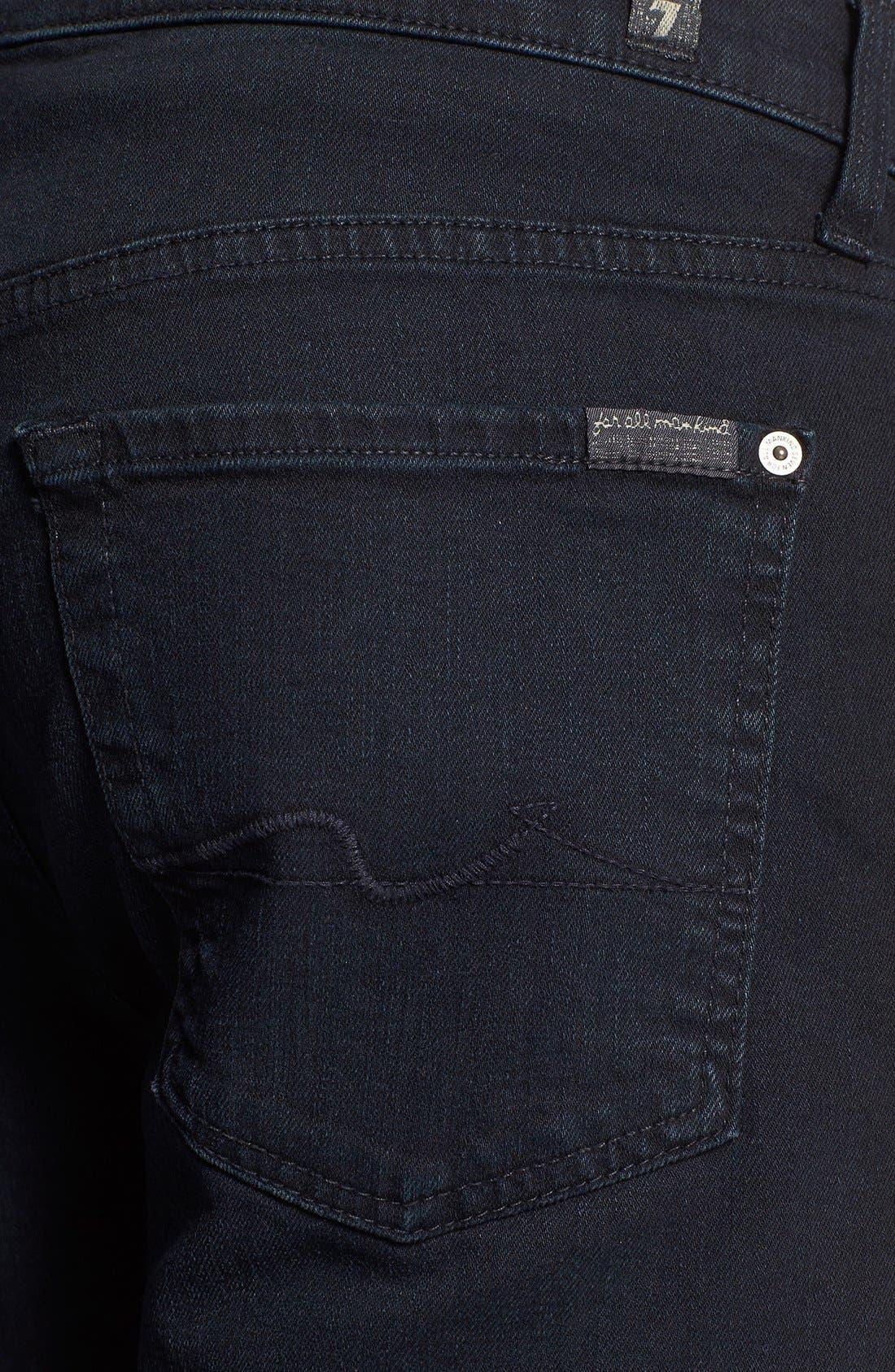 Alternate Image 4  - 7 For All Mankind® 'Standard' Straight Leg Jeans (Castaic Lake)