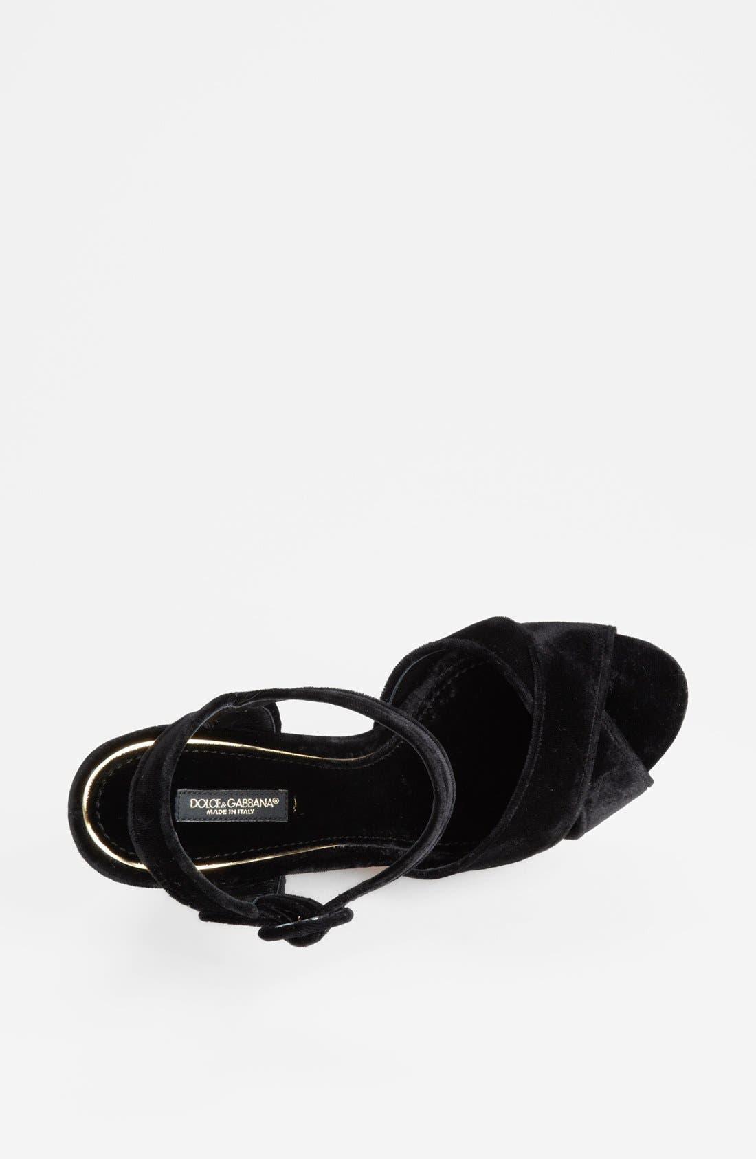 Alternate Image 3  - Dolce&Gabbana Wedge Sandal