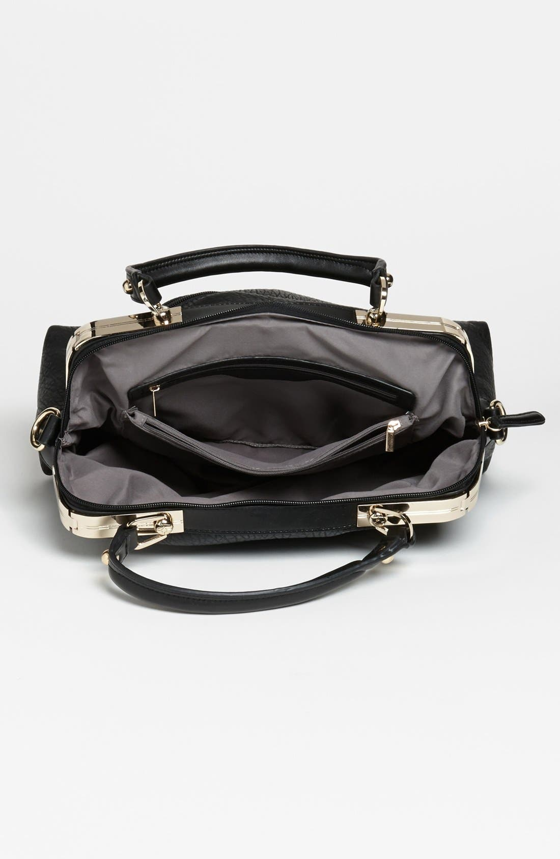 Alternate Image 3  - Emperia Faux Leather Tote Bag
