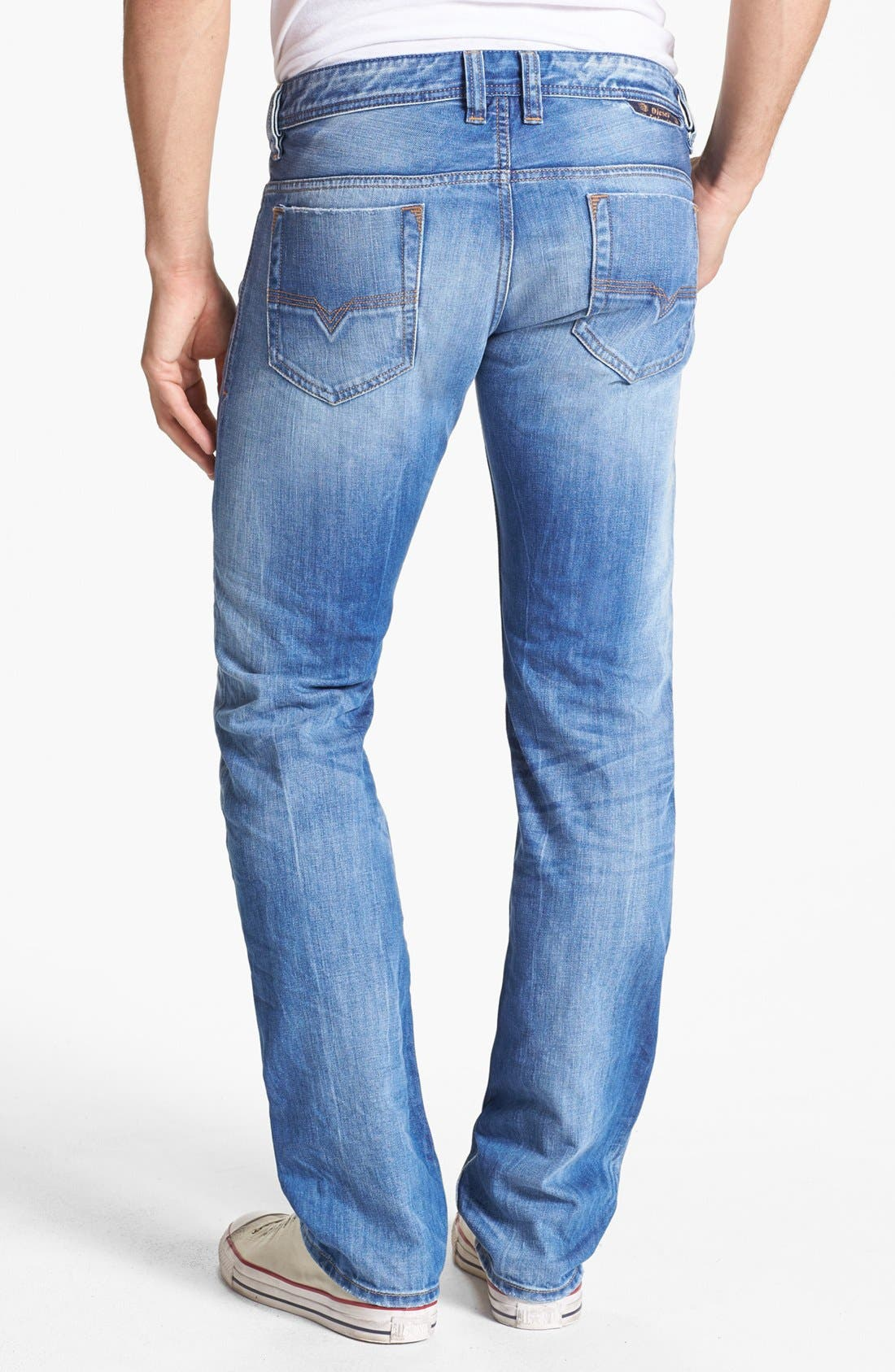Alternate Image 1 Selected - DIESEL® 'Safado' Slim Fit Jeans (0816P)