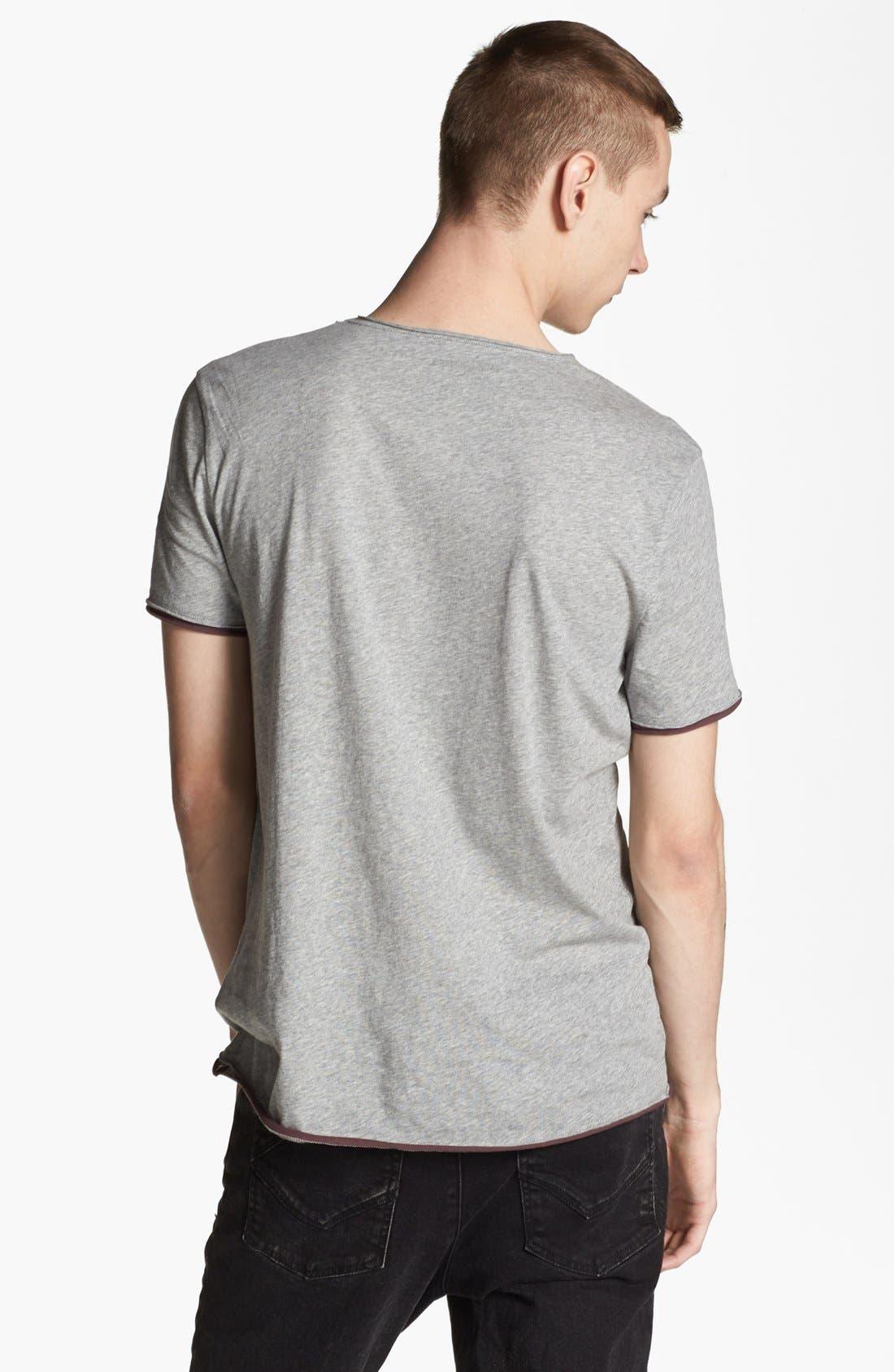 Alternate Image 2  - Zadig & Voltaire 'Skull' V-Neck T-Shirt