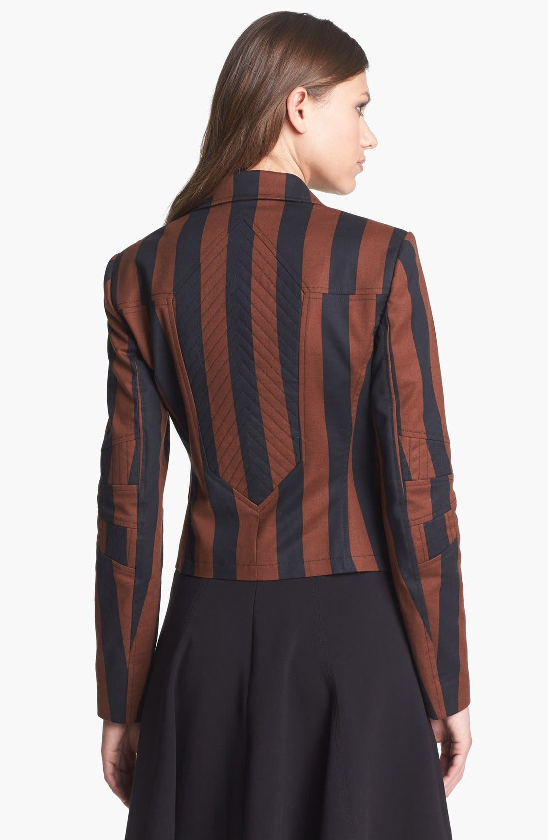 Alternate Image 2  - Rachel Roy Stripe Blazer