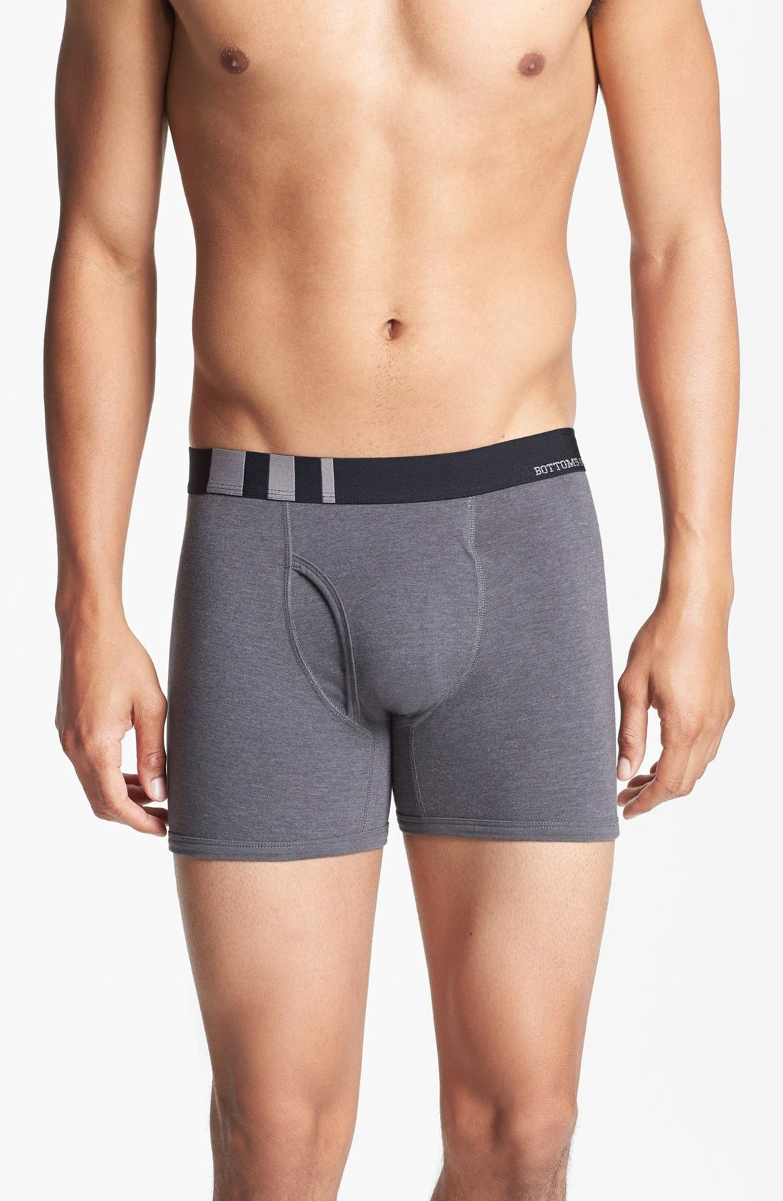 Alternate Image 2  - Basic Underwear 'Bottoms Out' Boxer Briefs (3-Pack)