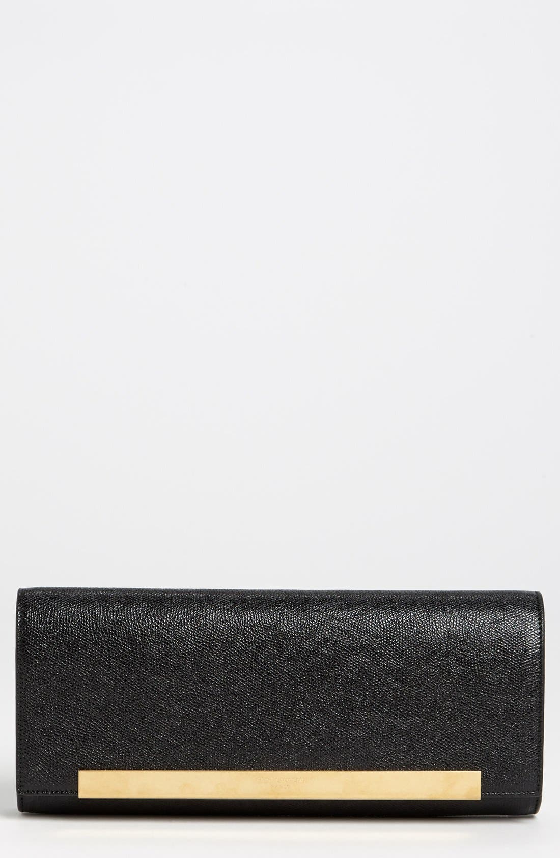 Main Image - Saint Laurent 'Lutetia - Palmellato' Leather Clutch