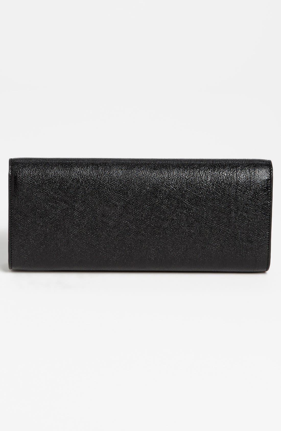 Alternate Image 4  - Saint Laurent 'Lutetia - Palmellato' Leather Clutch