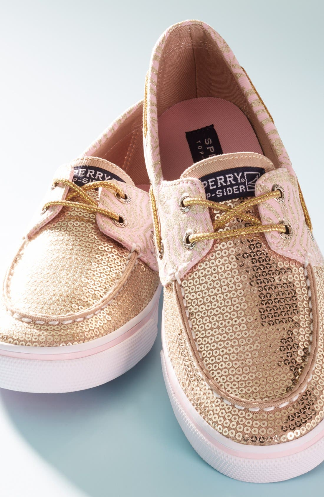 Alternate Image 5  - Sperry Top-Sider® Kids 'Bahama' Slip-On (Walker, Toddler, Little Kid & Big Kid)