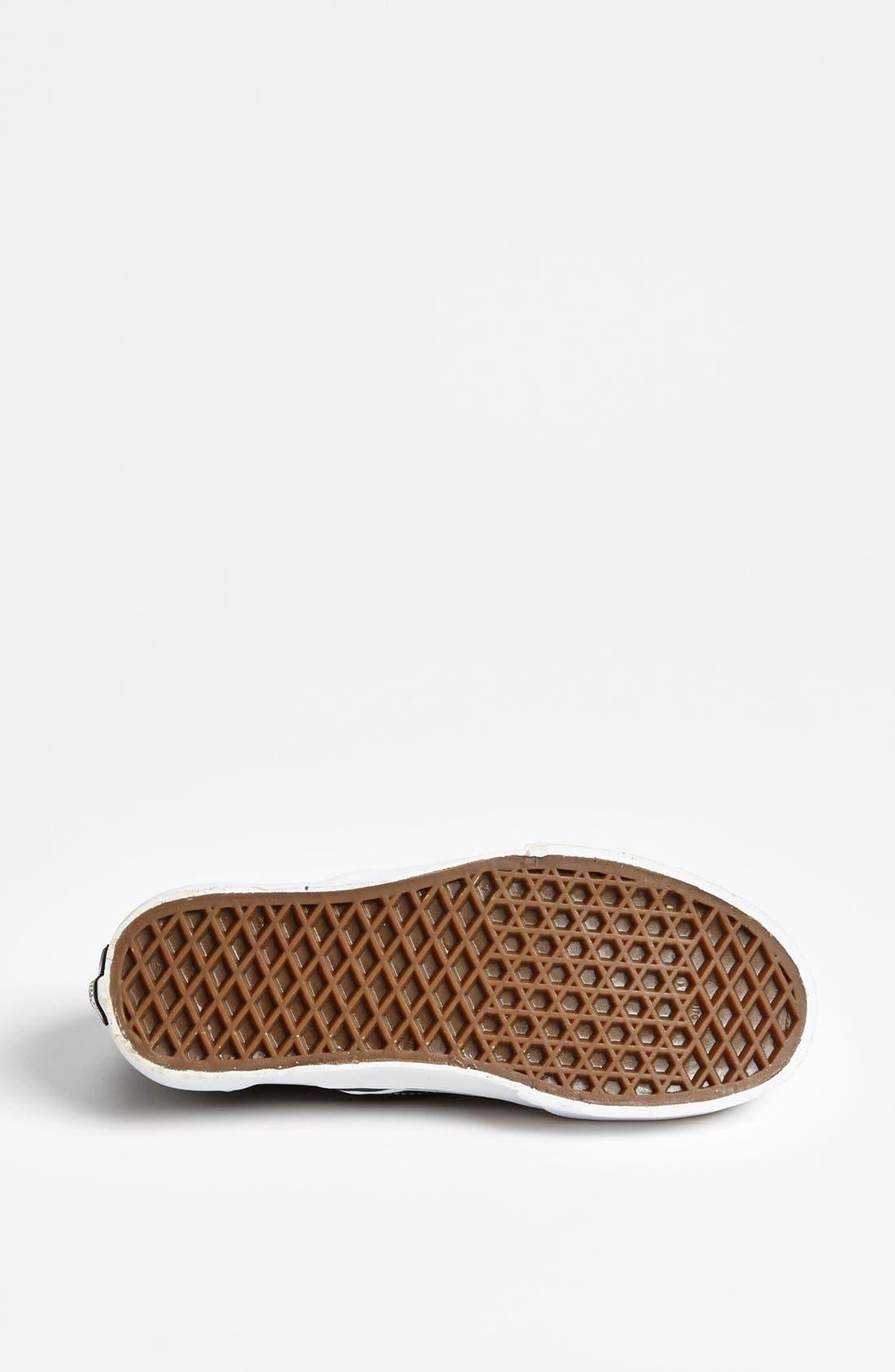 Alternate Image 4  - Vans 'Classic - Checker' Sneaker (Women)