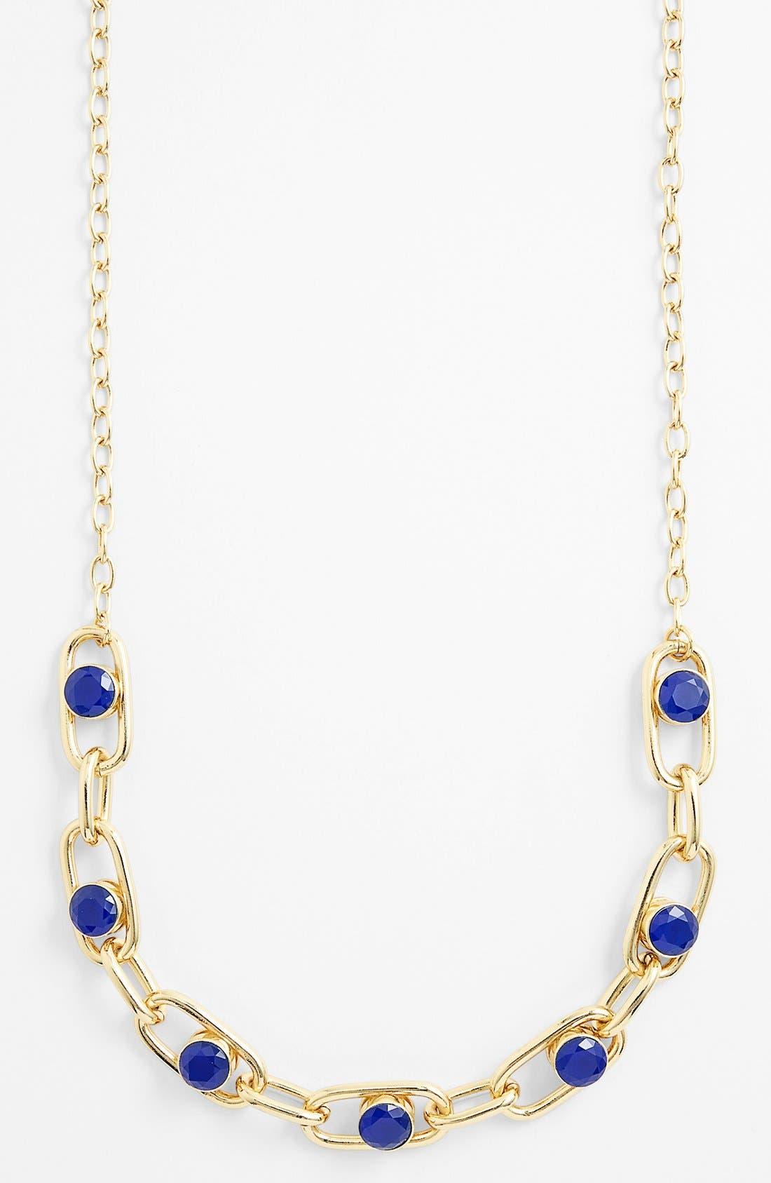 Alternate Image 2  - kate spade new york 'get rolling' long link necklace