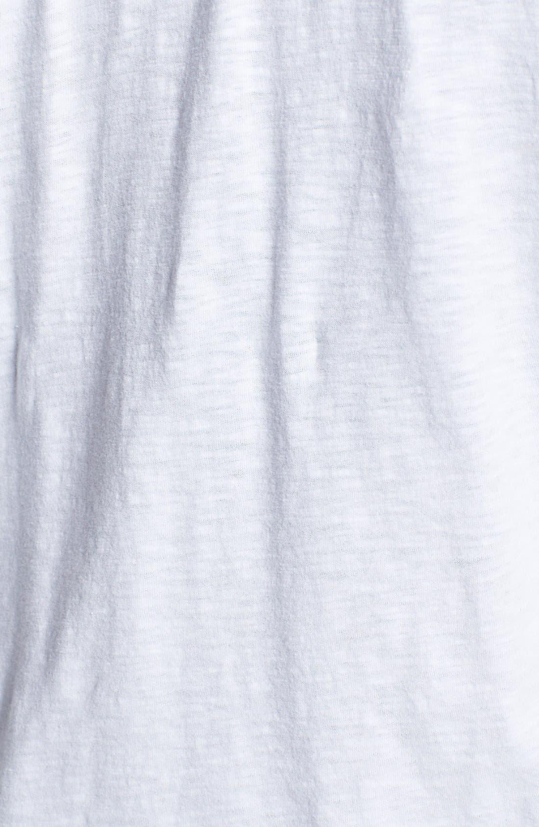 Alternate Image 3  - Sejour Roll Sleeve Hoodie (Plus Size)
