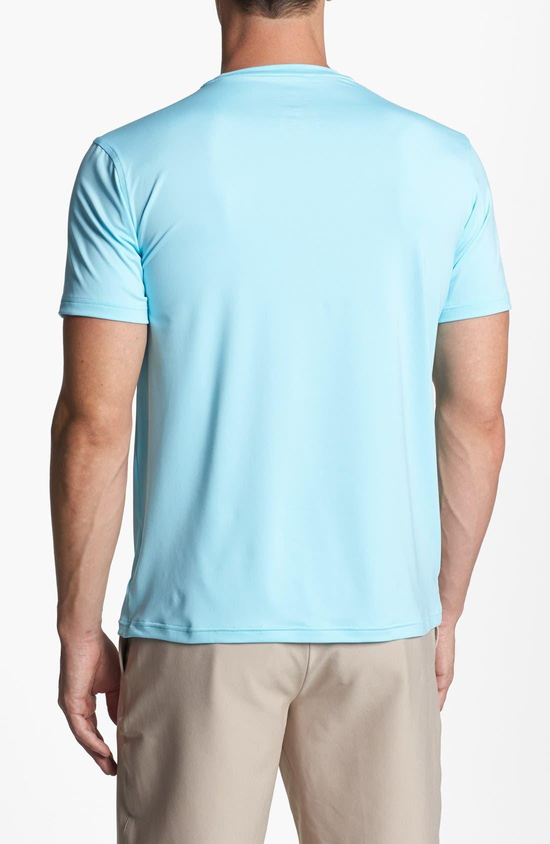 Alternate Image 2  - Peter Millar 'Limerick' Stretch T-Shirt