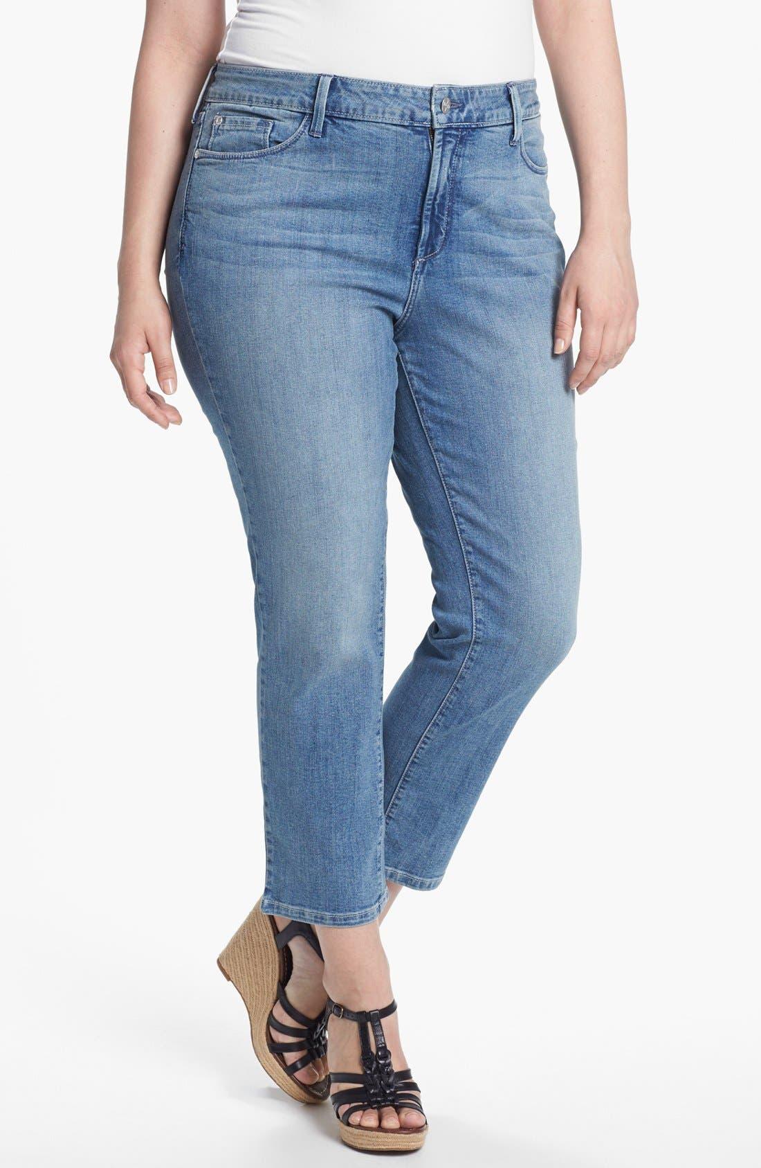 Main Image - NYDJ 'Audrey' Skinny Ankle Jeans (Plus Size)