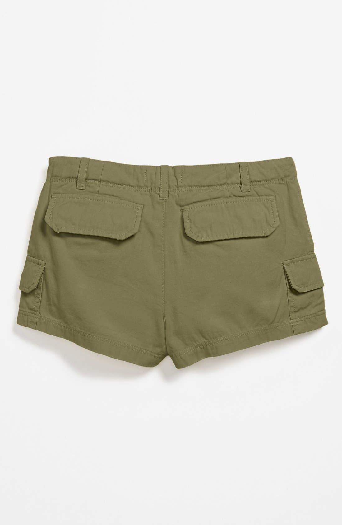 Main Image - Peek 'Stella' Cargo Shorts (Big Girls)