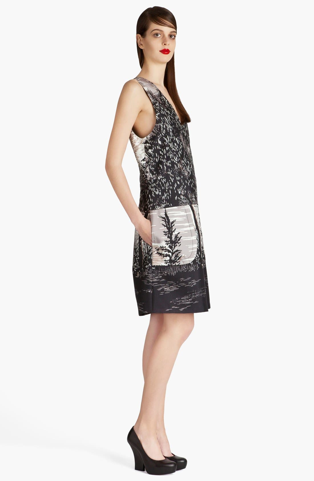Alternate Image 3  - Marni Treescape Print Dress