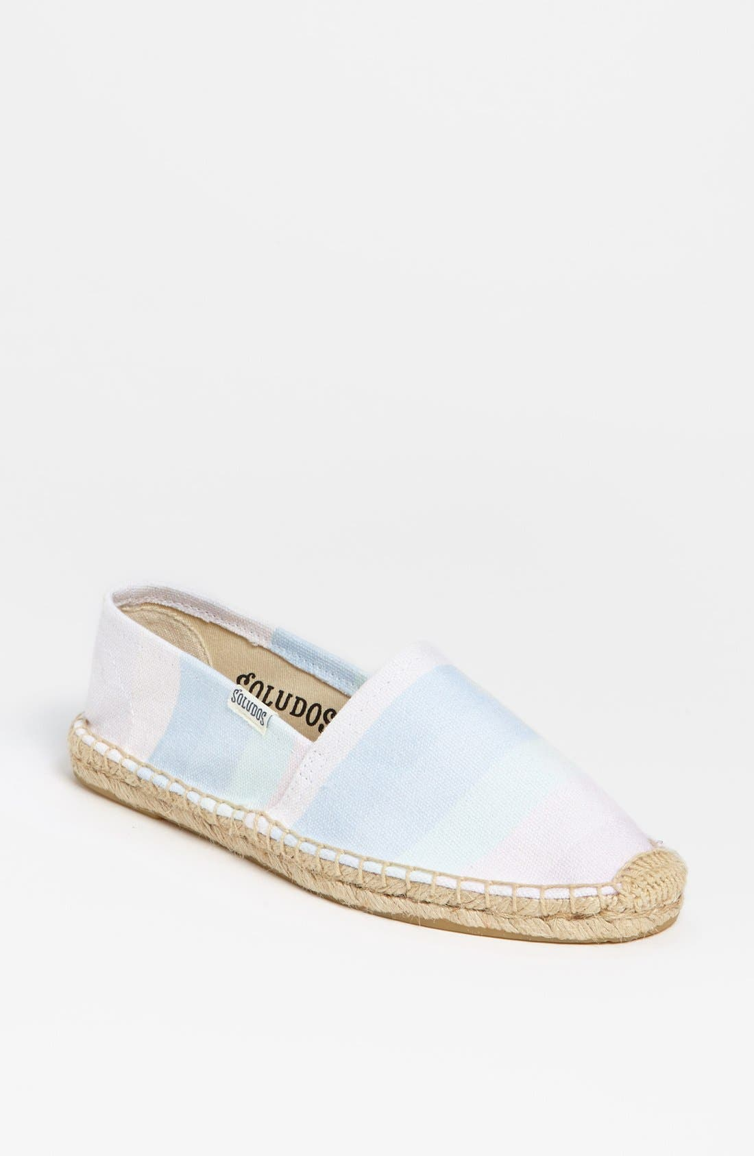 Alternate Image 1 Selected - Soludos 'Ombré Washed Rainbow' Slip-On (Women)