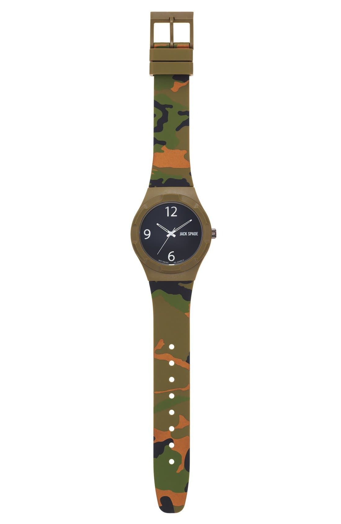Alternate Image 2  - Jack Spade 'Graphic - Camo' Watch, 40mm