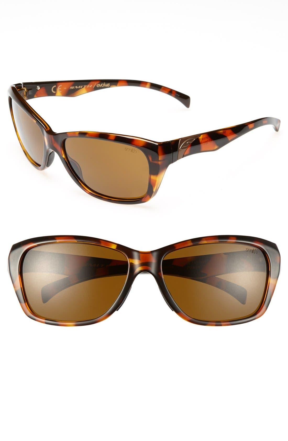 Main Image - Smith 'Spree' 58mm Polarized Sunglasses