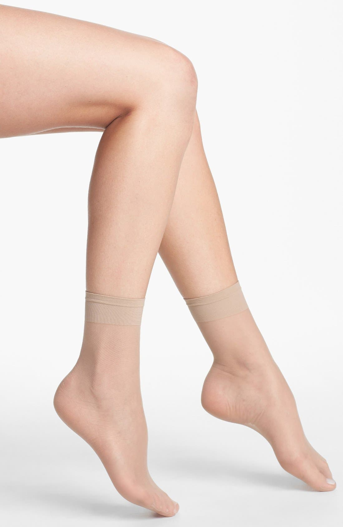 Nordstrom 3-Pack Sheer Anklet (3 for $36)