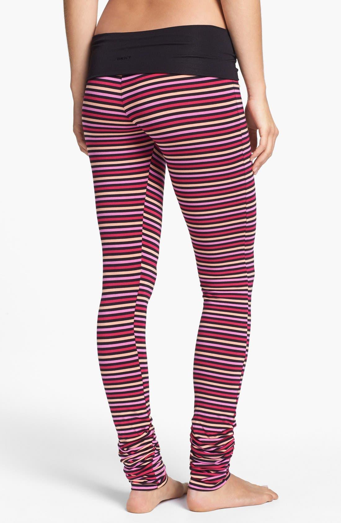 Alternate Image 2  - DKNY 'Soho Mews Yoga Skinnies' Leggings