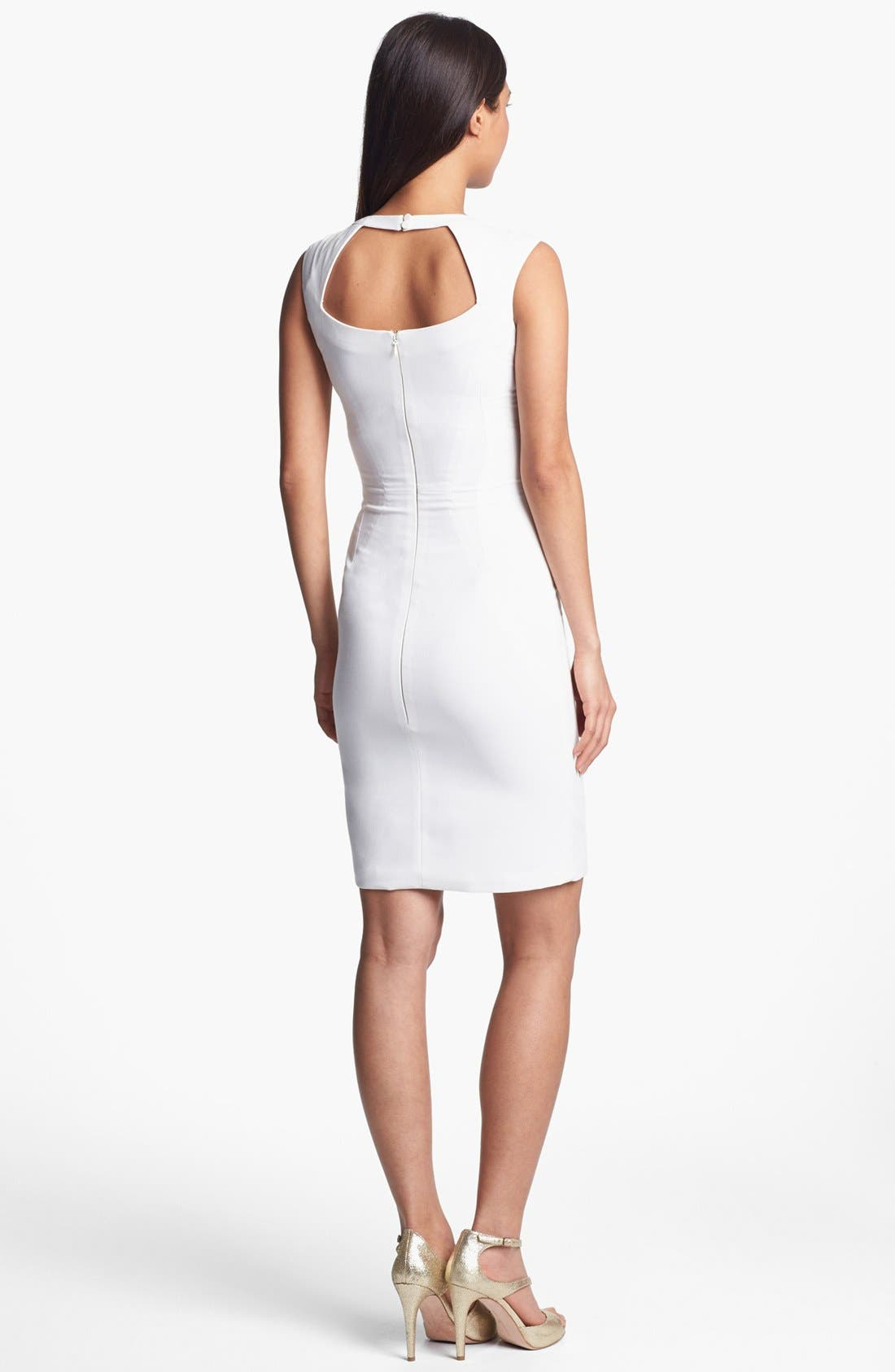 Alternate Image 2  - BCBGMAXAZRIA Sleeveless Sheath Dress