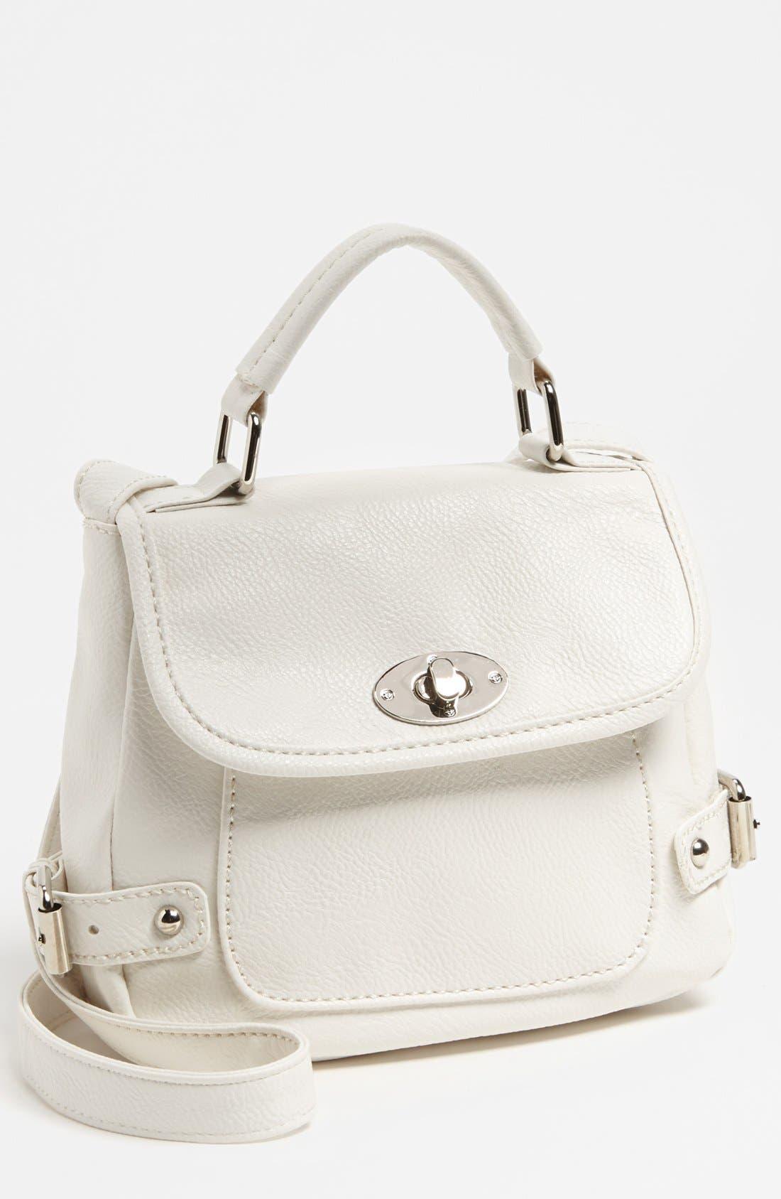 Alternate Image 1 Selected - Cesca 'Top Notch' Crossbody Bag, Small
